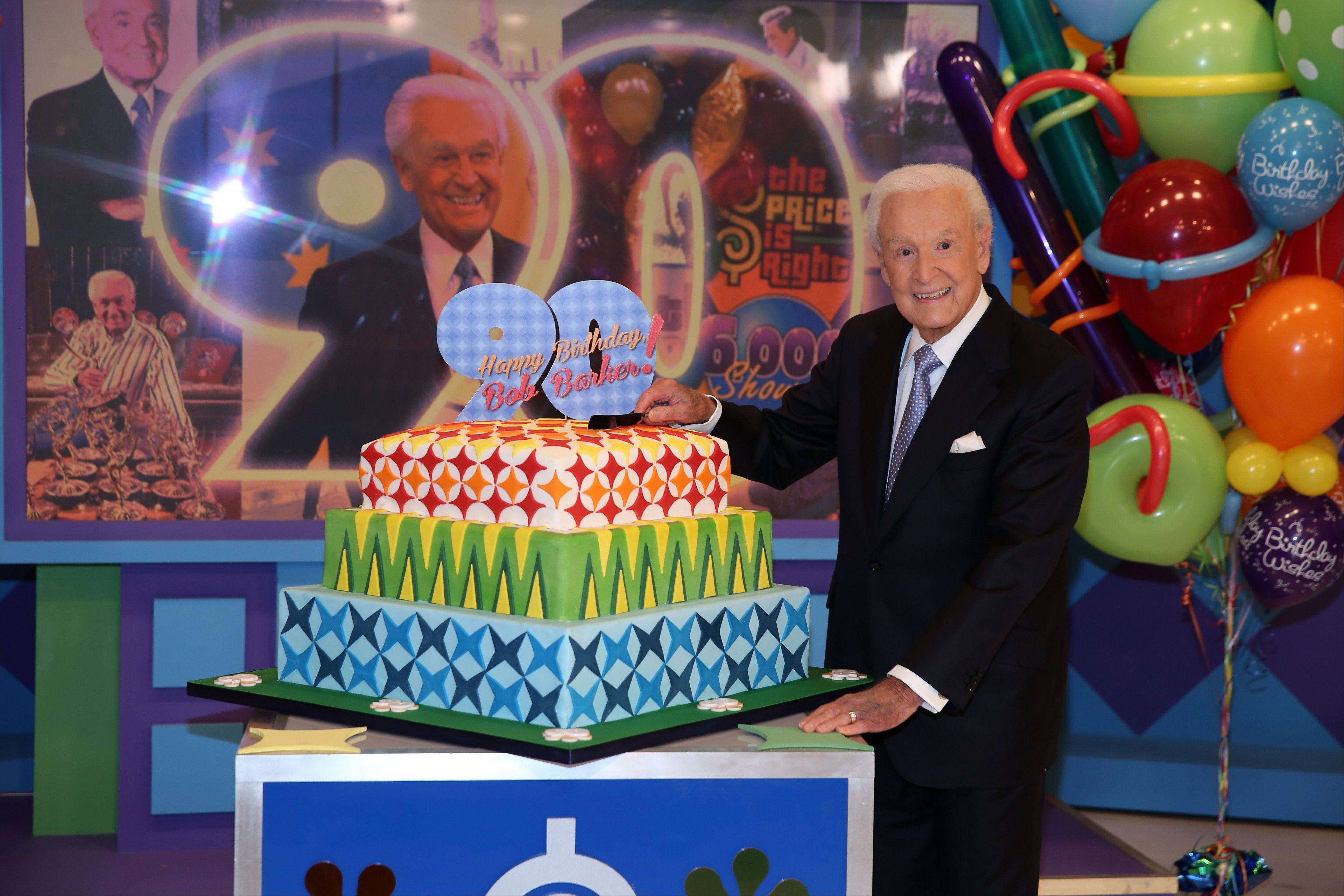 "Bob Barker, the veteran game show host of ""The Price is Right"" from 1972 to 2007, was invited back by current host Drew Carey on Thursday to celebrate Barker's 90th birthday."