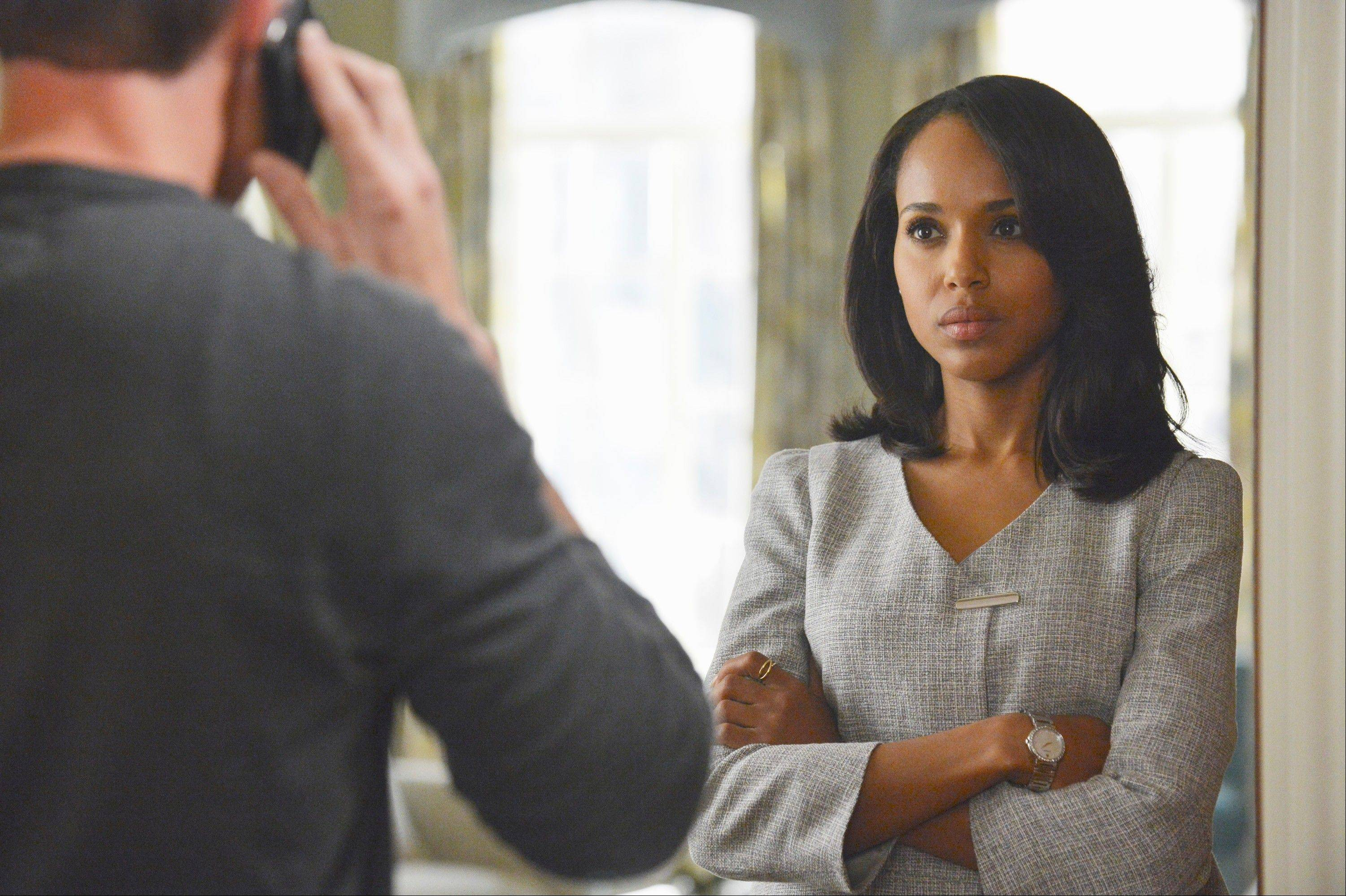 "Kerry Washington was nominated for a Golden Globe for best actress in a drama series for her role as Olivia Pope ""Scandal."""