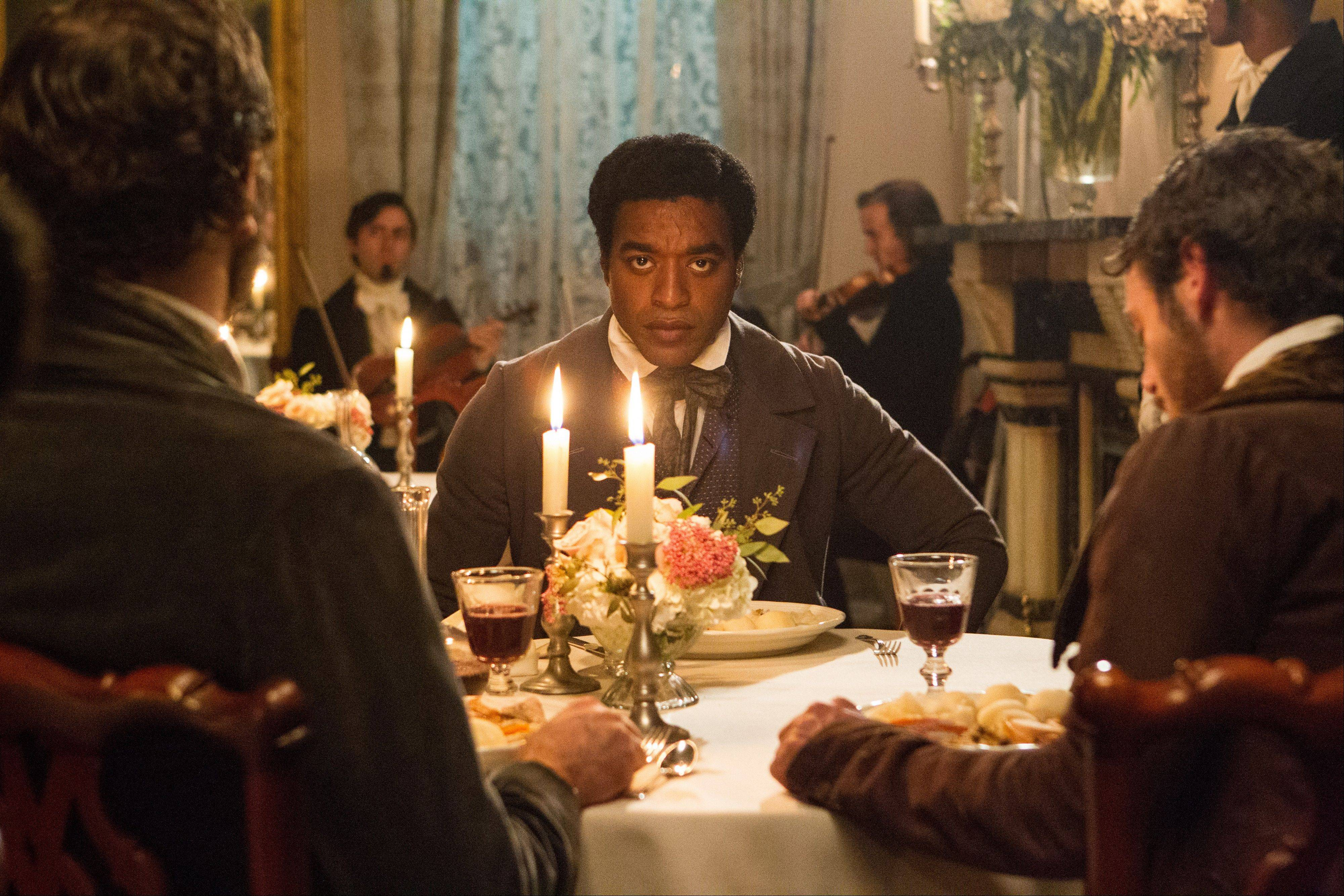 """12 Years a Slave"" was nominated for a Golden Globe for best motion picture drama on Thursday."