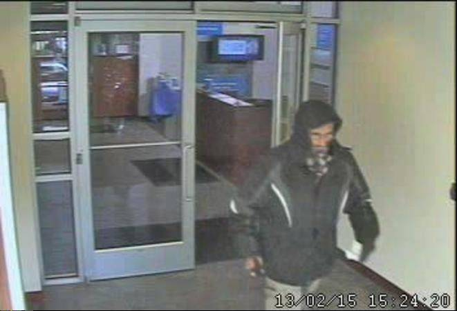 "The FBI is offering a $5,000 reward for information on a suspect dubbed the ""Hooded Bandit,"" accused of at least five robberies in the suburbs since February 2013."