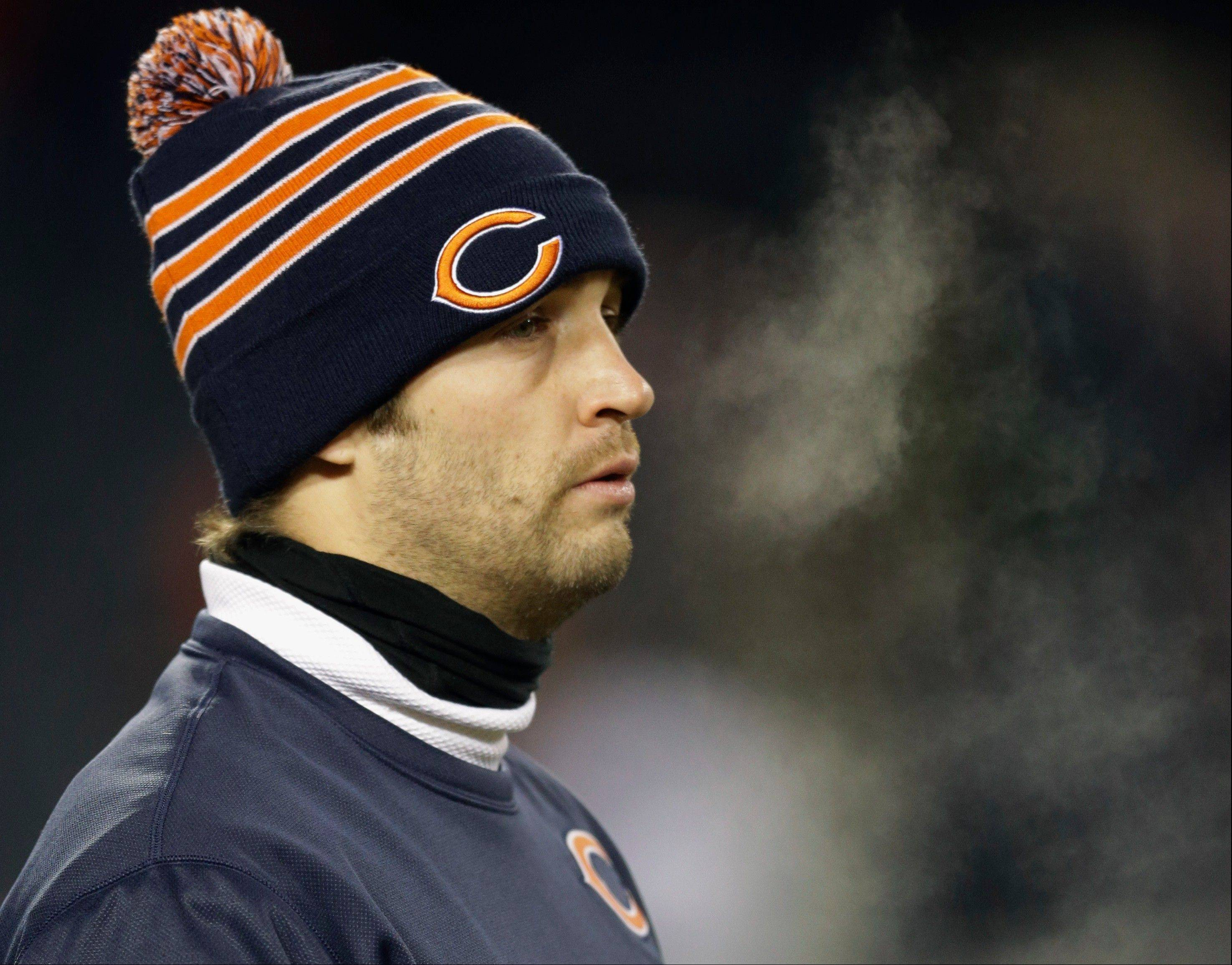 "Jay Cutler will start Sunday in Cleveland when the Bears take on the Browns. Cutler said he hasn't given a second's thought to any QB controversy with Josh McCown. ""I've been worried about Cleveland,"" he said."