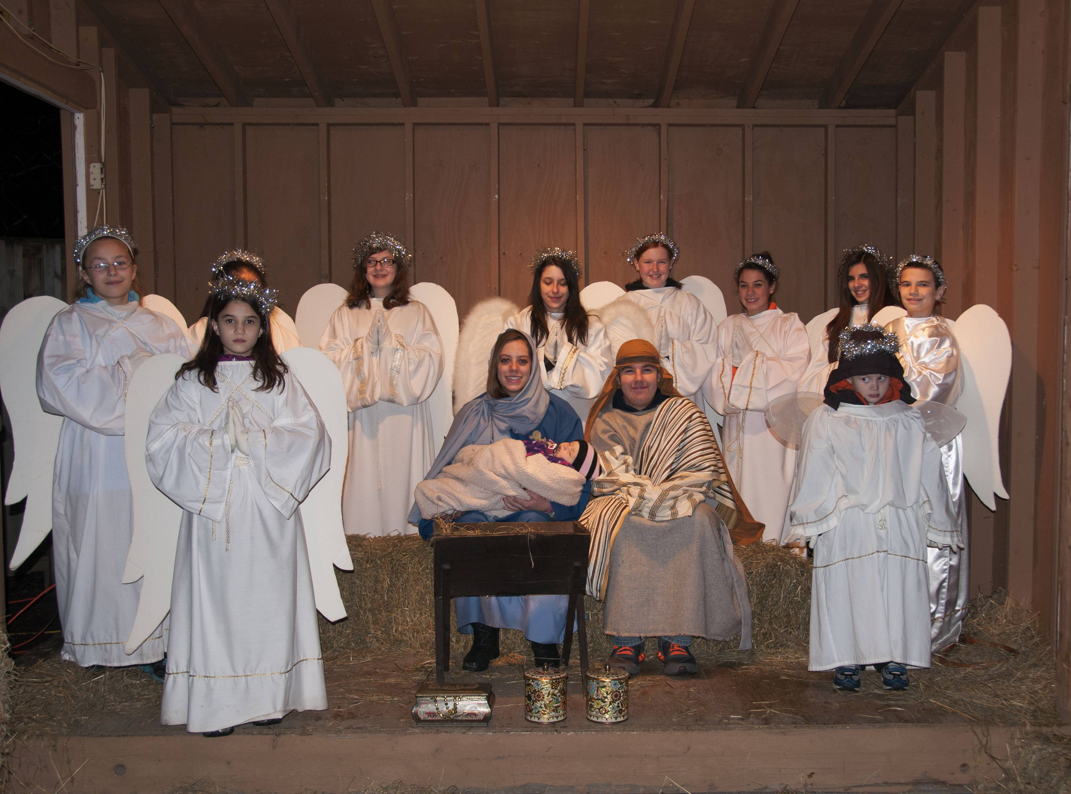 Live Nativity from 2012.