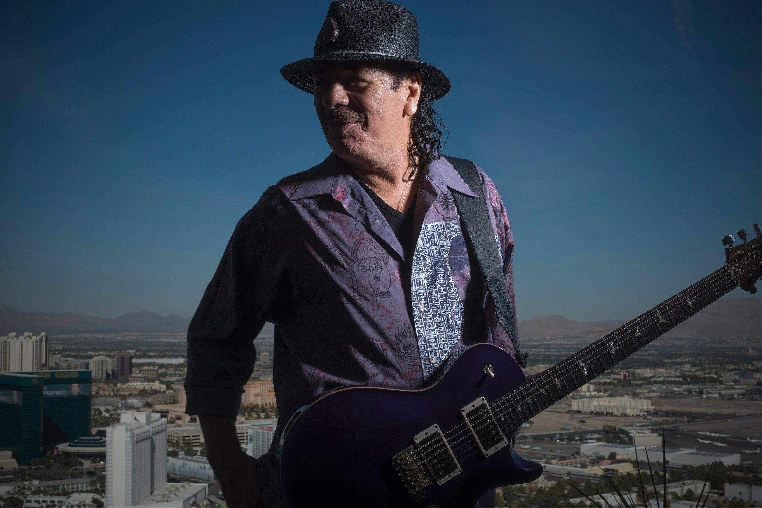Carlos Santana is one of the 2013 recipients of Kennedy Center Honors.