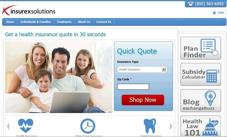 Private health insurance exchange in Rosemont