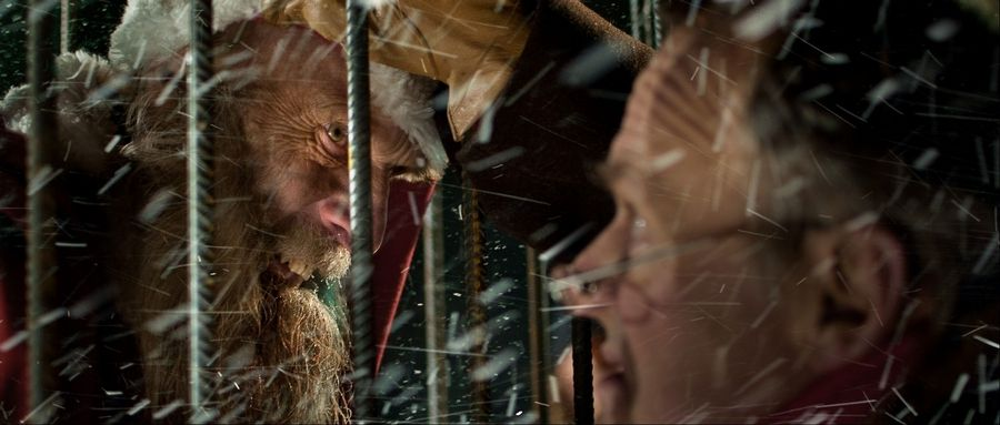 "A Finnish woodsman thinks he has captured the original, malevolent Santa Claus in ""Rare Exports: A Christmas Tale."""