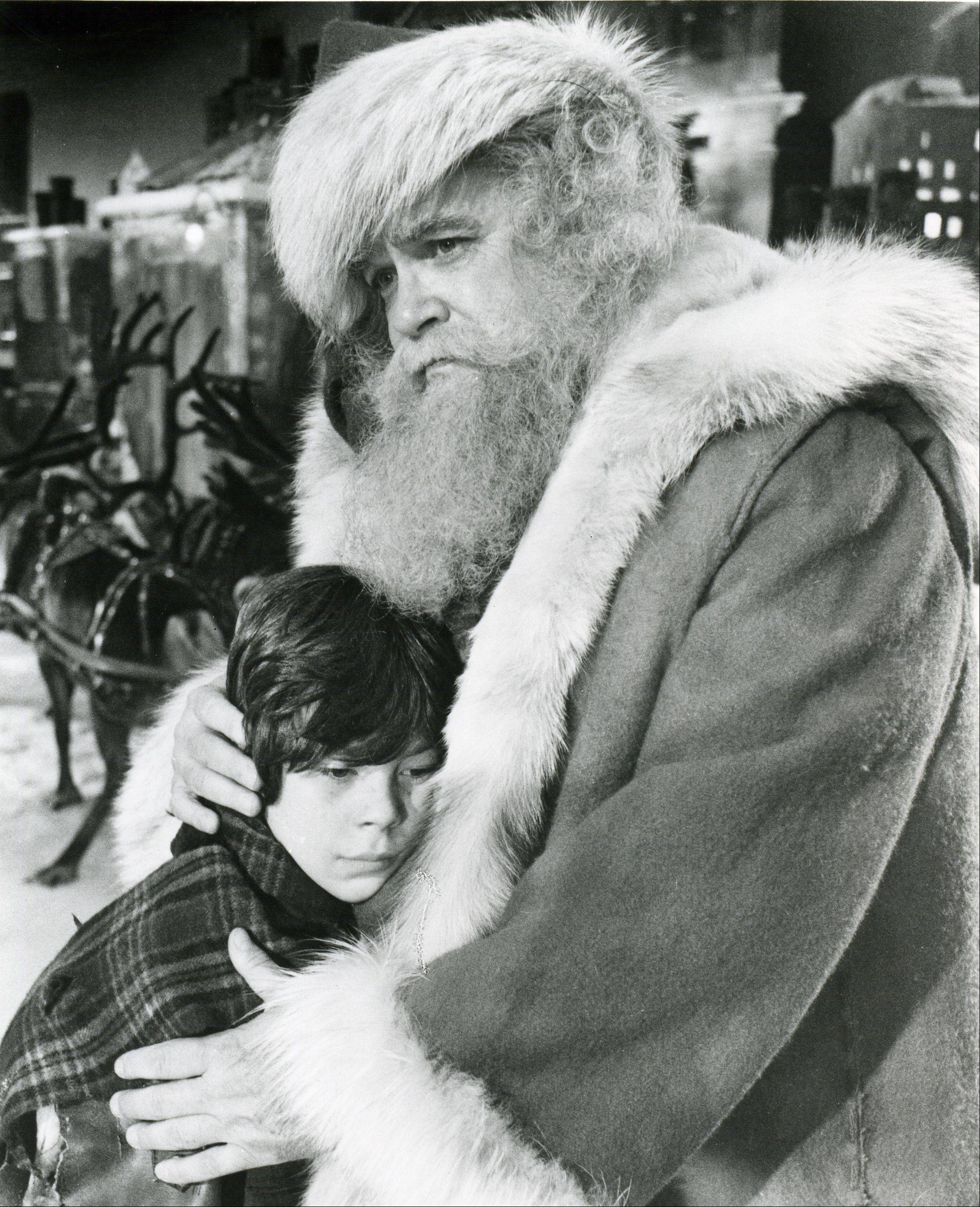 "David Huddleston portrays a conventional, caring St. Nick in 1985's ""Santa Claus -- The Movie."""