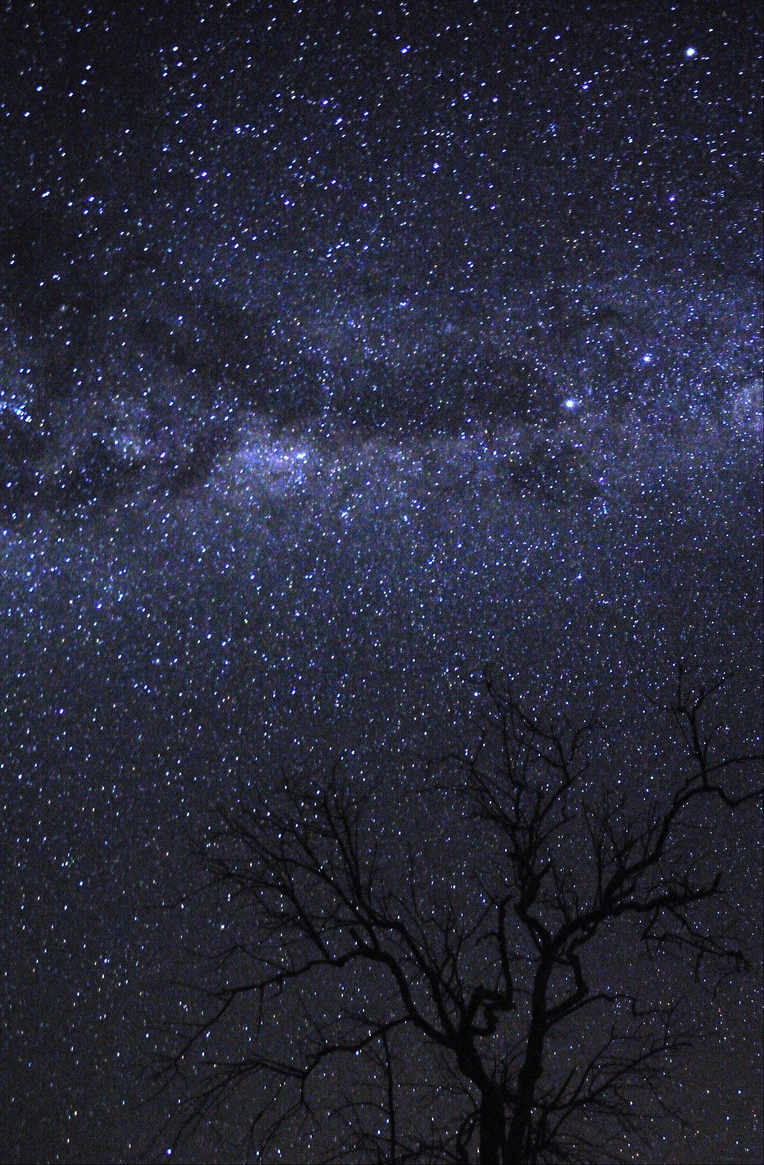 So many stars on a moonless night in a remote area of Botswana, Africa this past summer. Captured with a camera on a tripod and a 43-second exposure of the starry night sky.