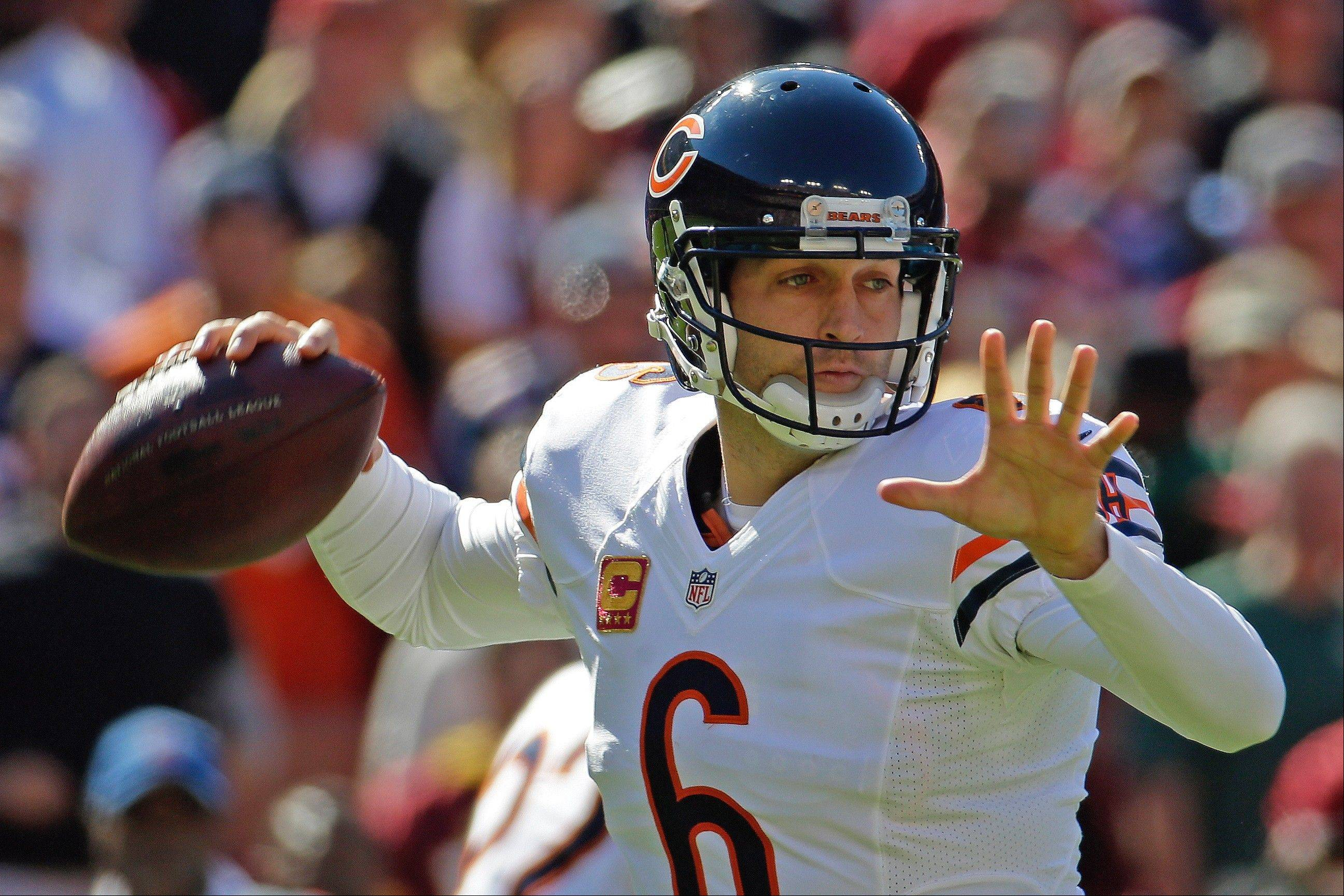 Bears coach Marc Trestman has made it clear that Jay Cutler is his man at quarterback.