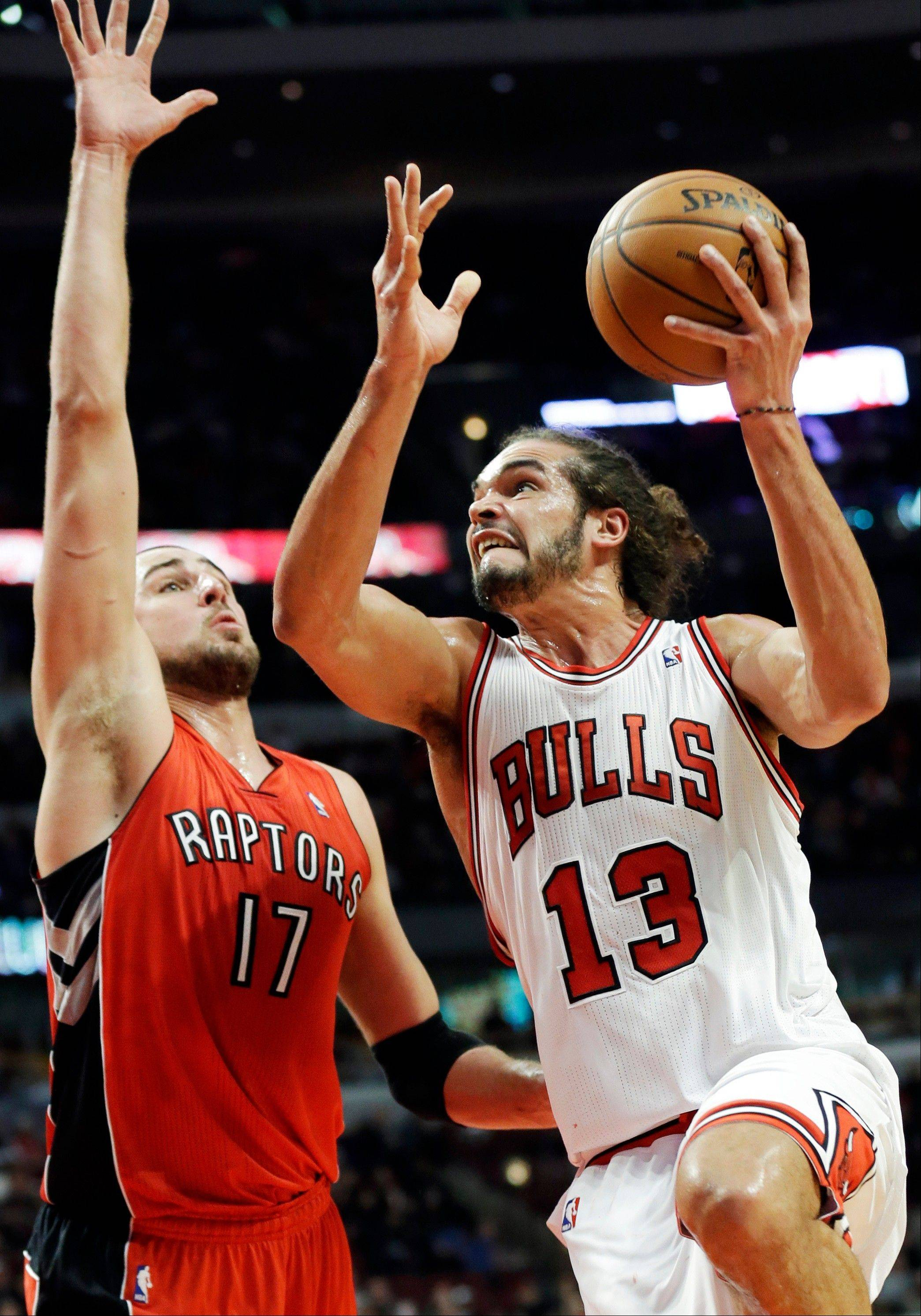 Joakim Noah and the struggling Bulls hope to get some momentum going when they host the Magic today at the United Center.