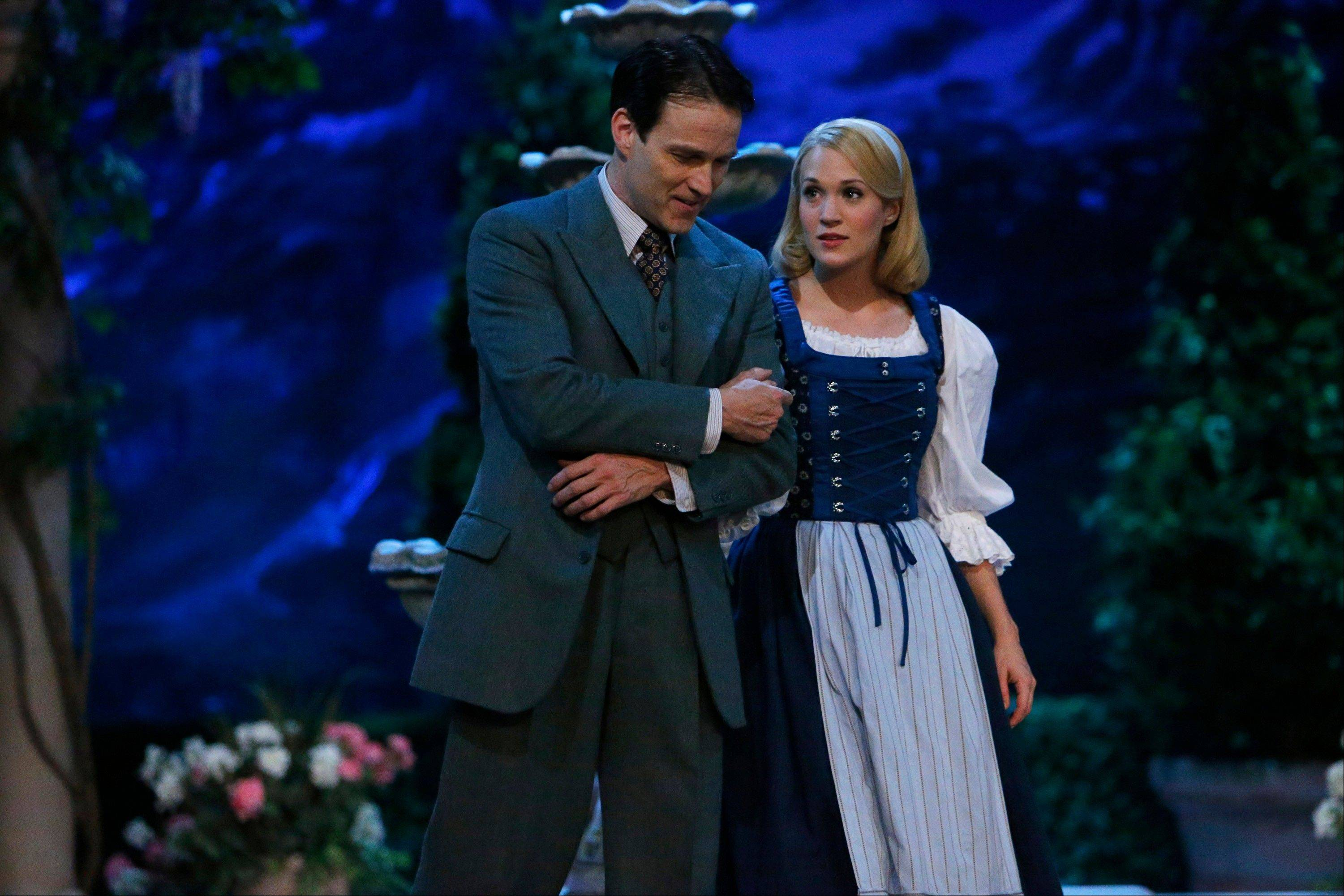 "Stephen Moyer as Captain Von Trapp and Carrie Underwood as Maria drew high viewership for NBC's ""The Sound of Music Live!"""