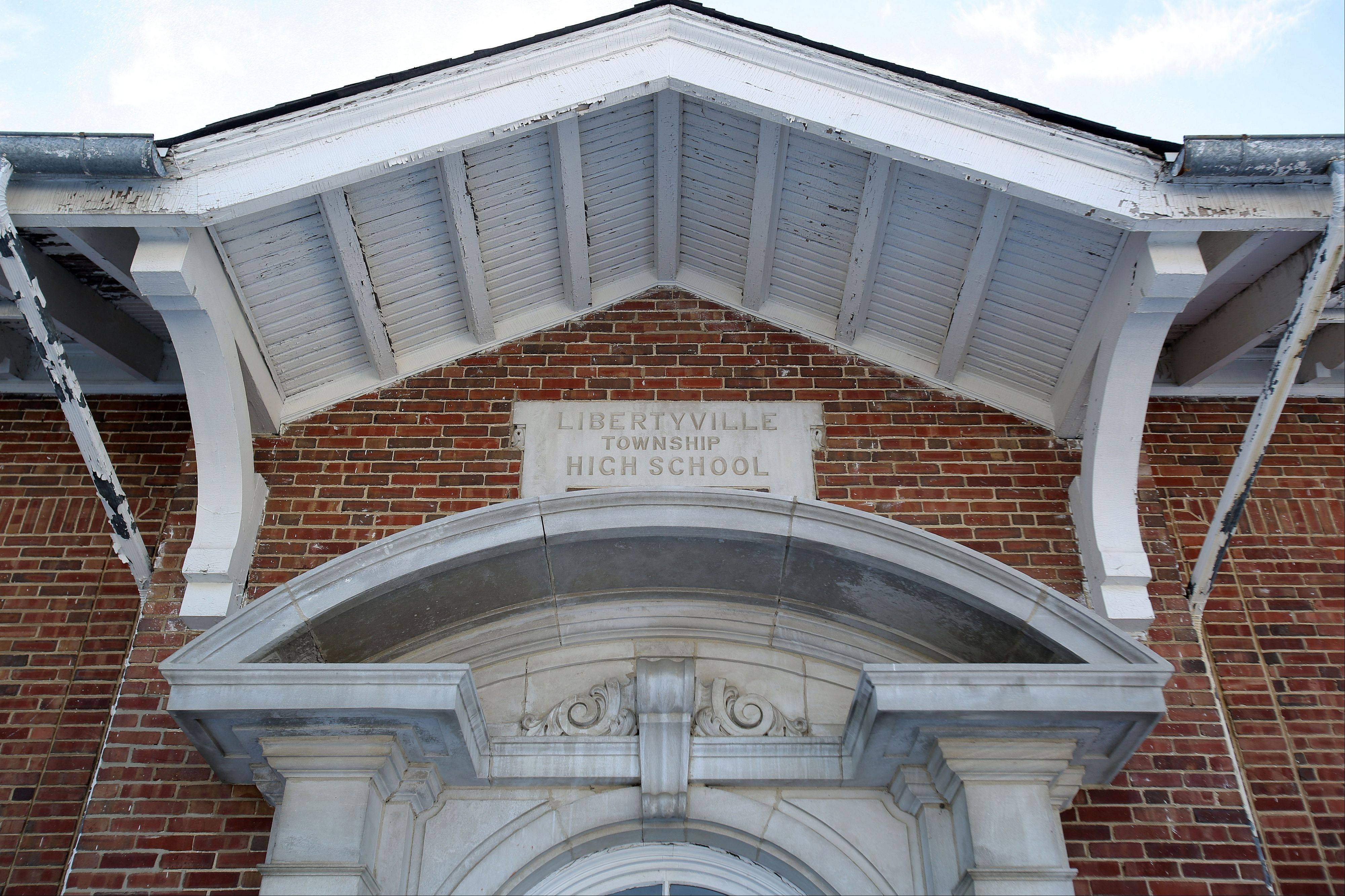 The Brainerd building was built in 1916 as Libertyville Township High School. Voters will be asked in March whether they would approve a tax hike to pay for up to $11.5 million in bonds to be issued by the village to convert it into a community center.