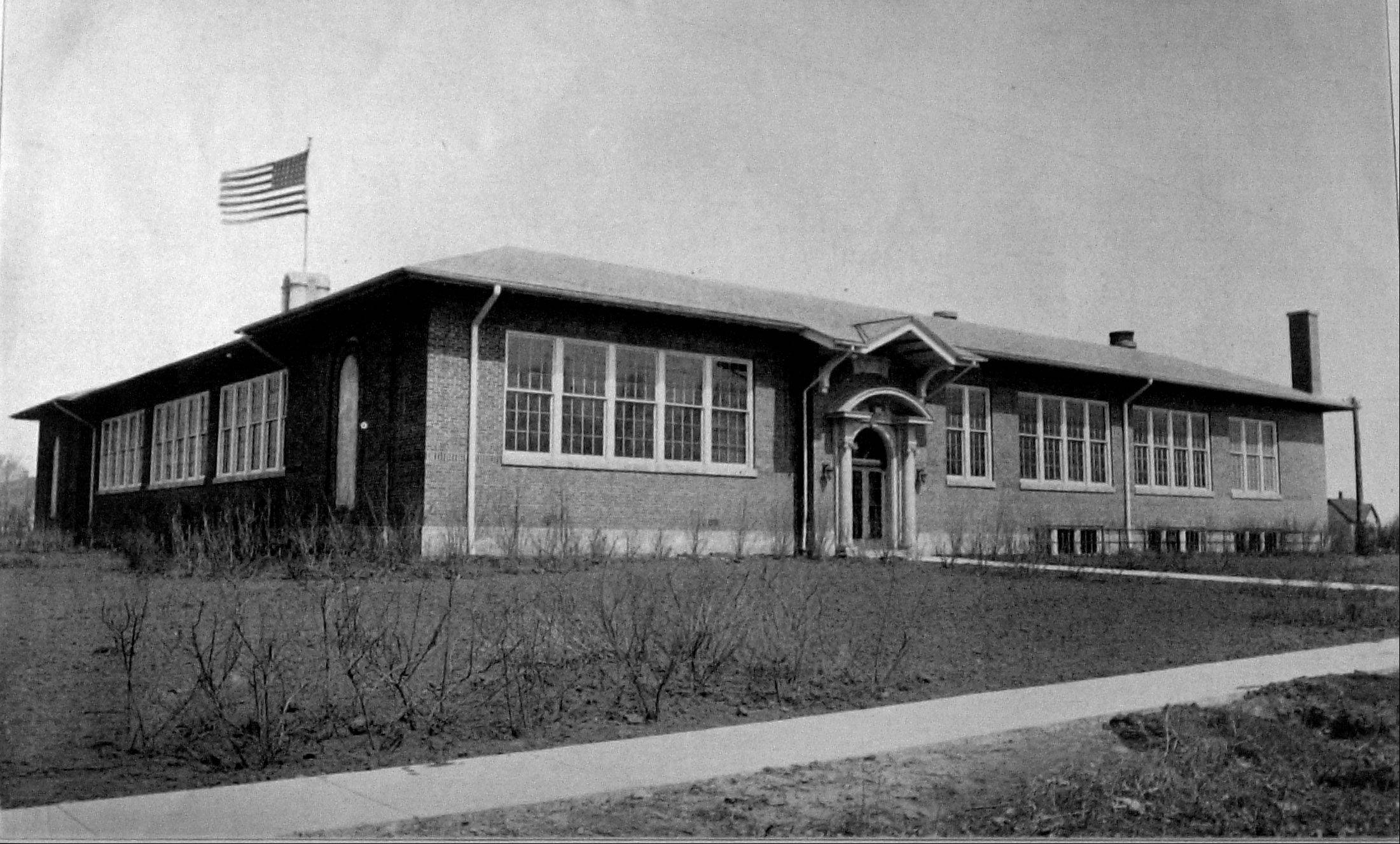 Libertyville Township High School was built in 1916.