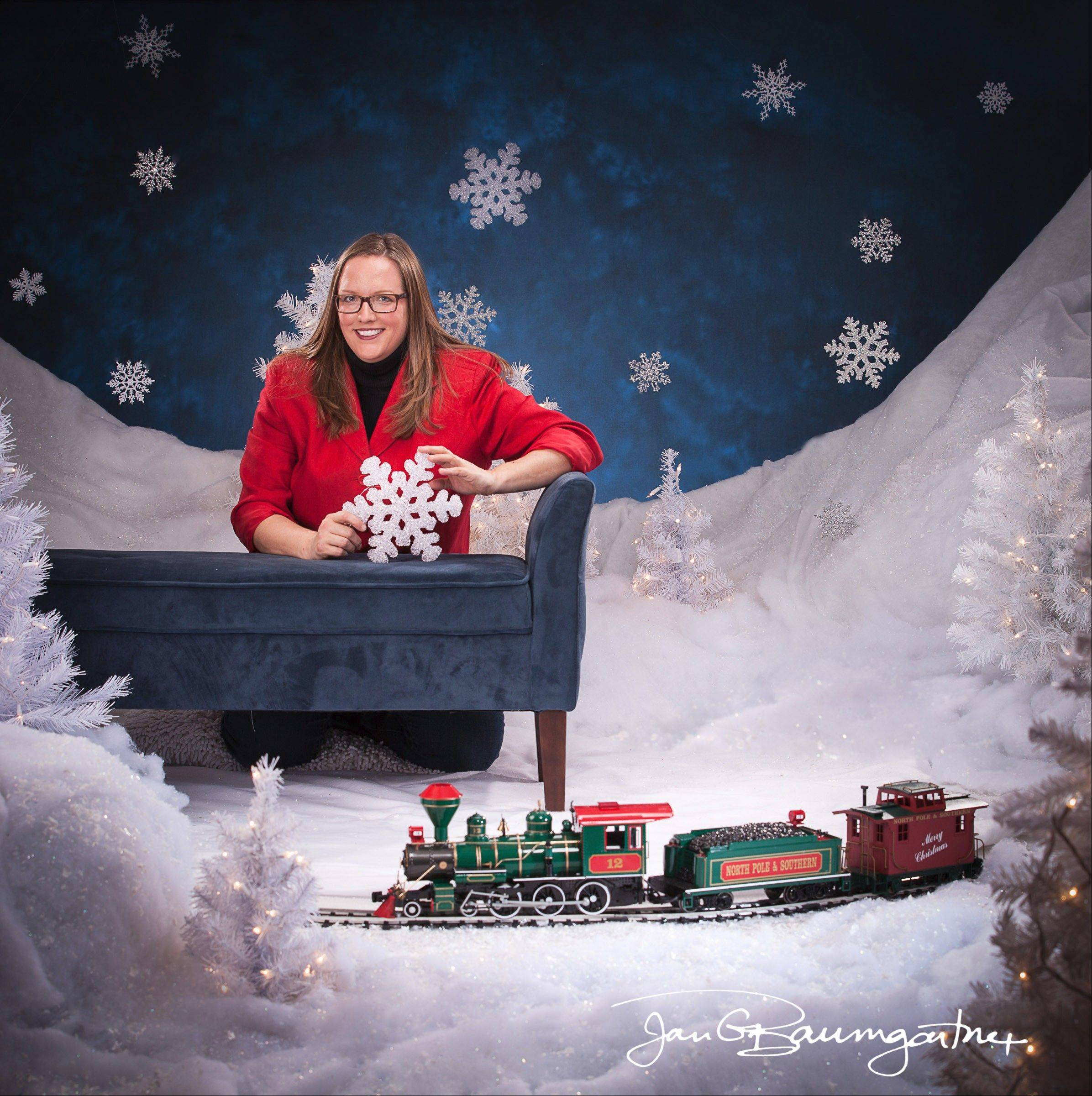 Elburn photographer creates 3-D studio for holidays