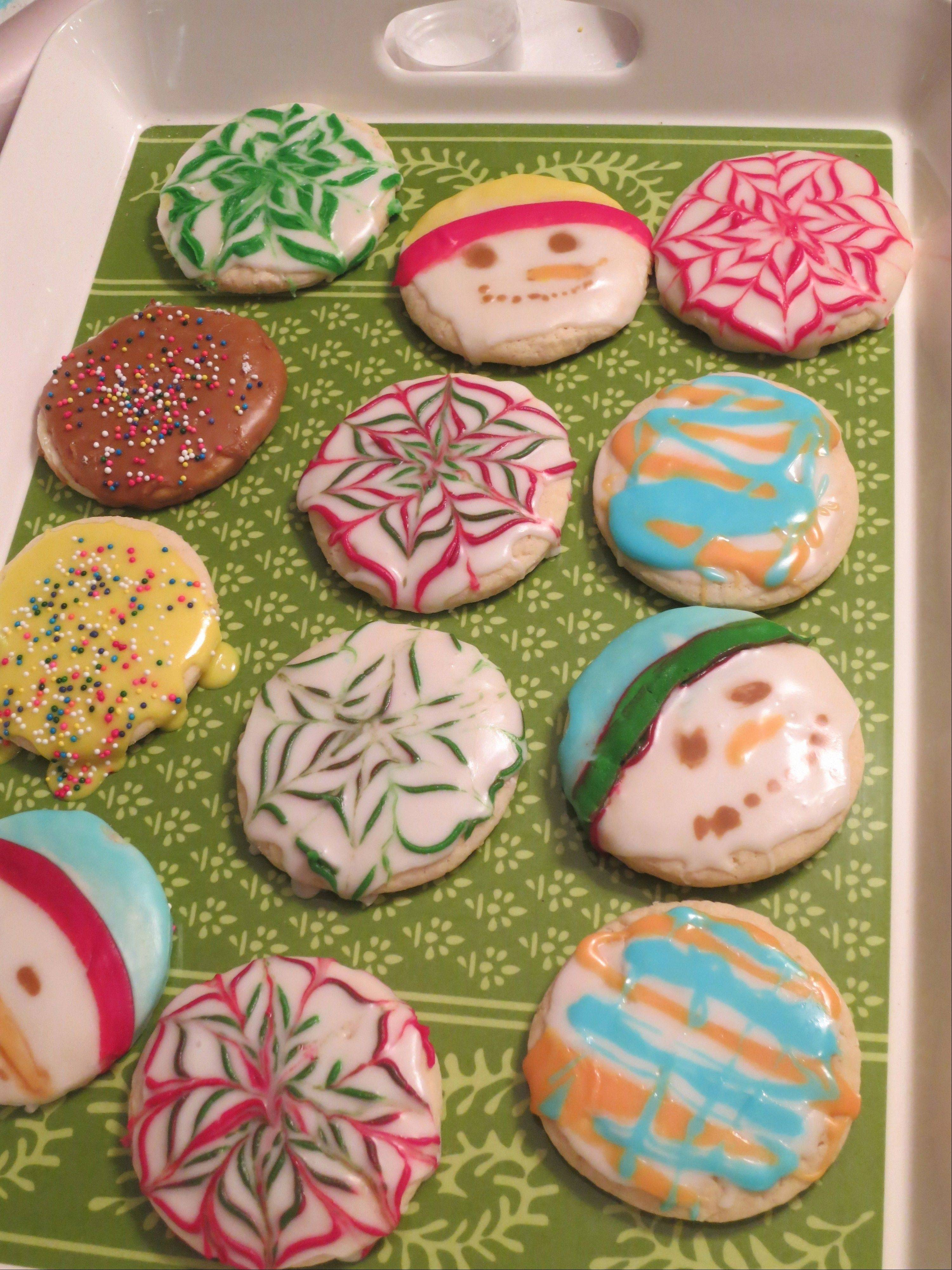 Courtesy of Prairie Crossing Batches of homemade cookies decorated and ready to be delivered to last year�s Prairie Crossing Cookie Walk.