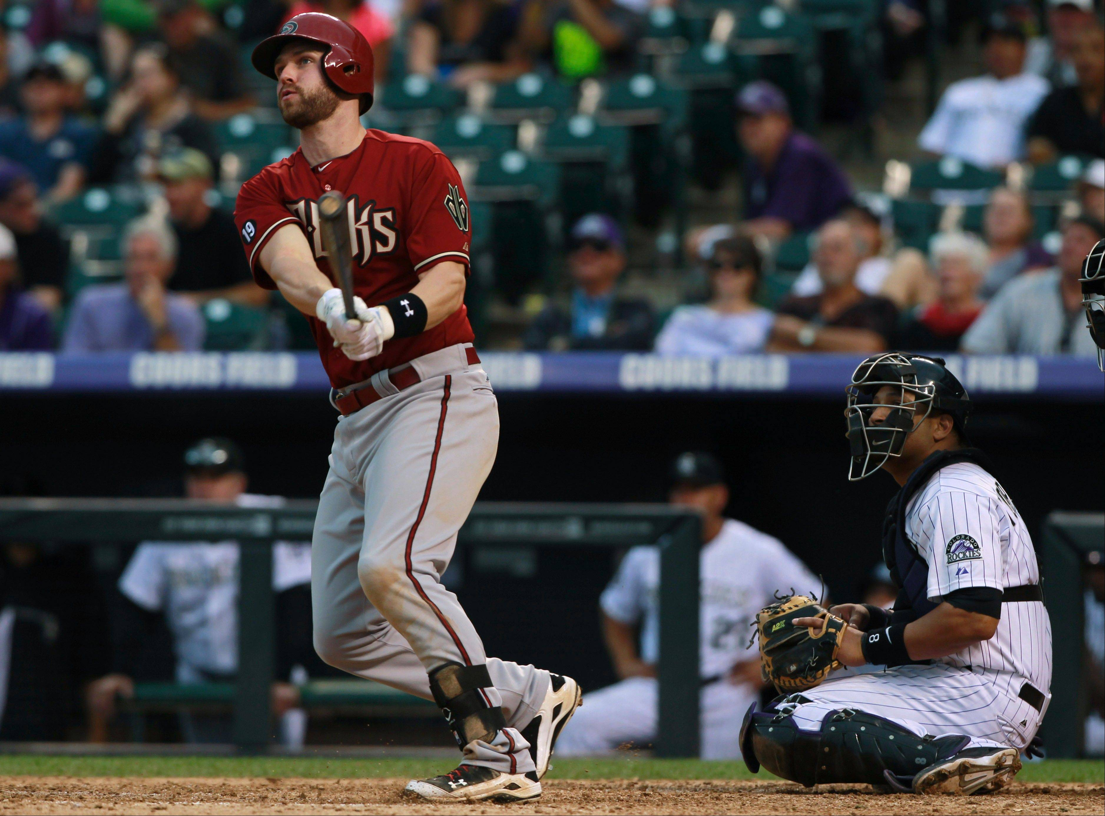 The White Sox have added 22-year-old third baseman Matt Davidson, above, to their roster after trading closer Addison Reed to the Arizona Diamondbacks on Monday.