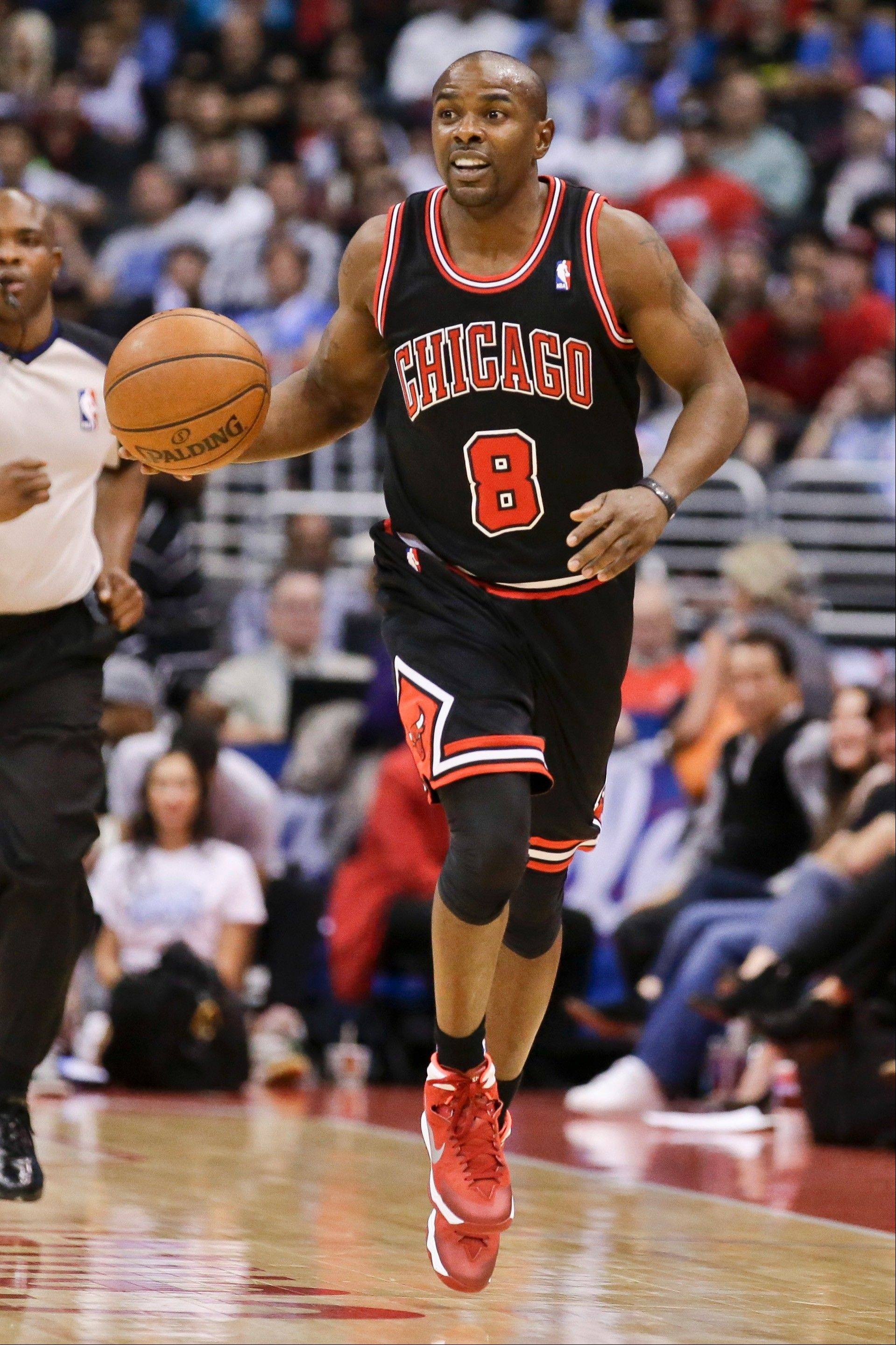Mike James, a veteran guard who played in seven games for the Bulls this season, was released by the team on Monday. The Bulls added guard D.J. Augustin to the roster last Friday.