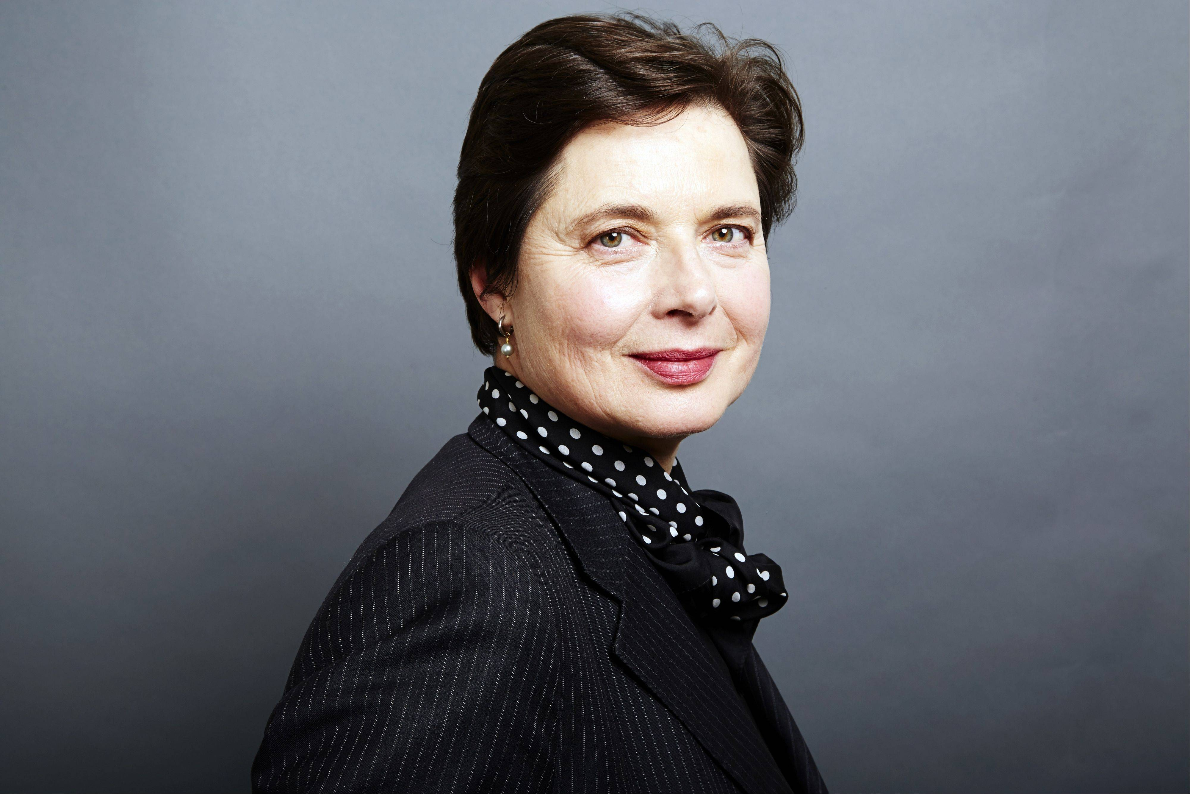 "Italian actress Isabella Rossellini, 61, has transformed her 40-odd ""Green Porno"" short films into an hourlong stage show."