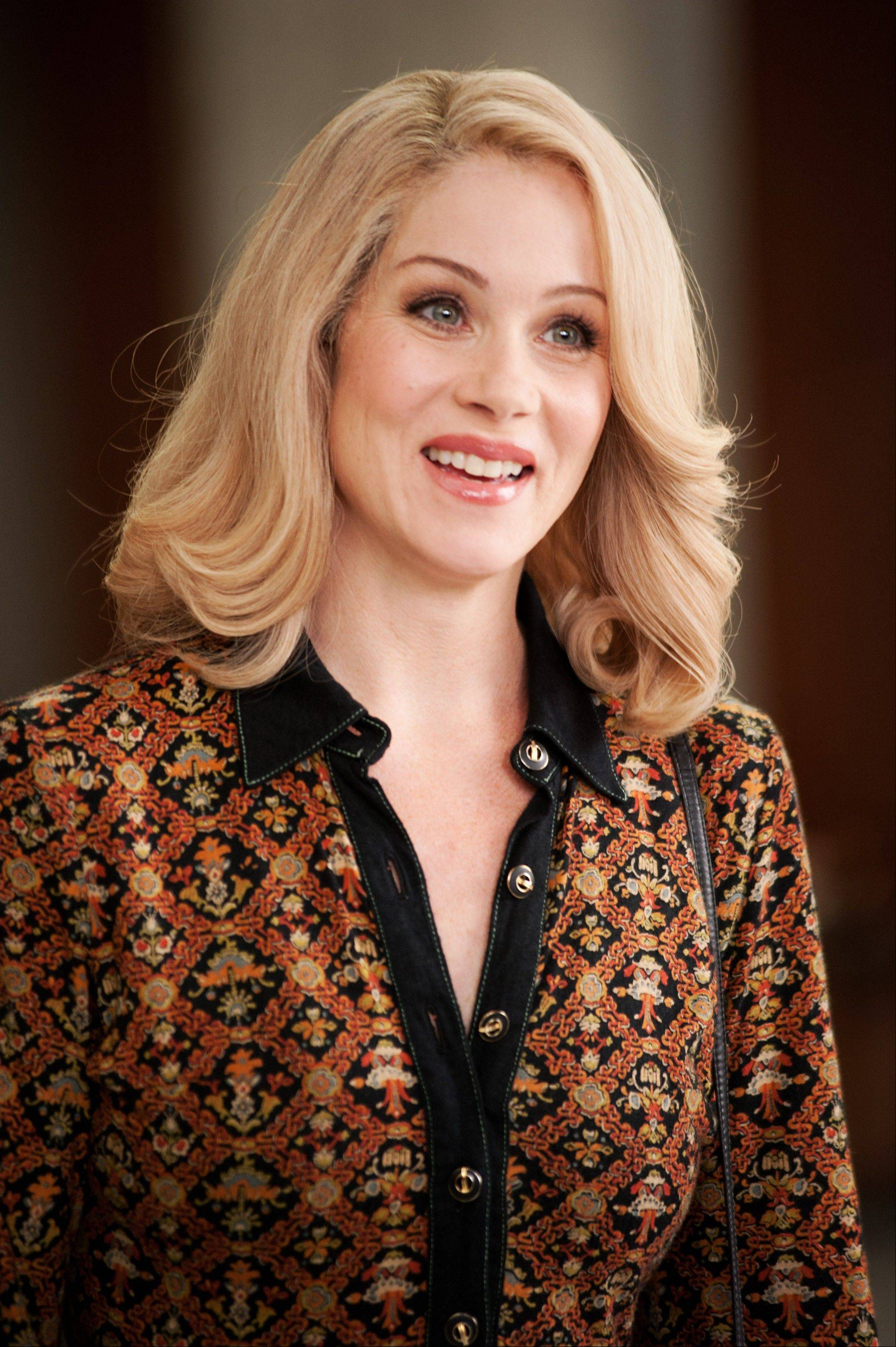 "Christina Applegate reprises her role as Veronica Corningstone in ""Anchorman 2: The Legend Continues."""