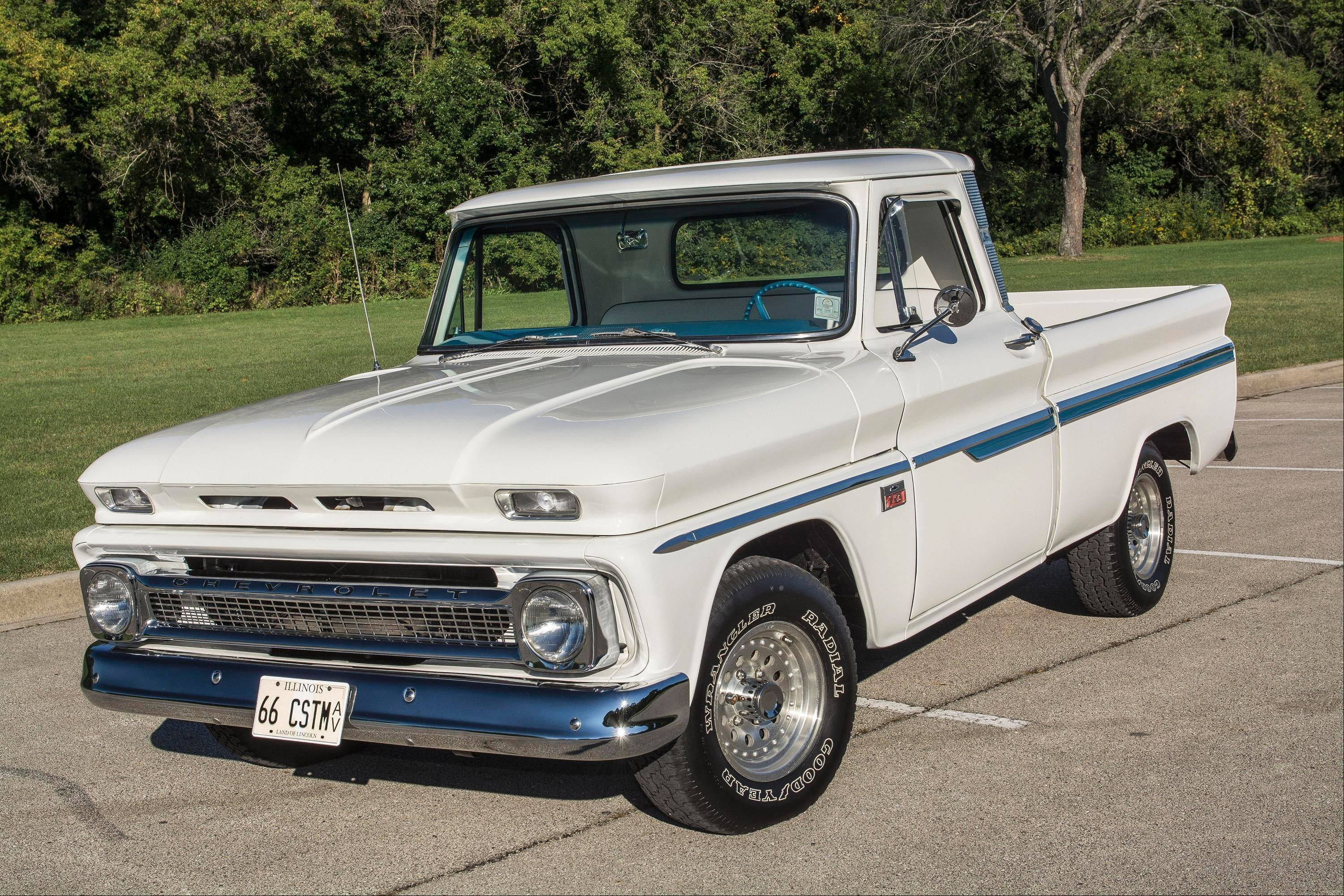 Truck Given 1966 Chevy C 10 Custom More Roads To Roam