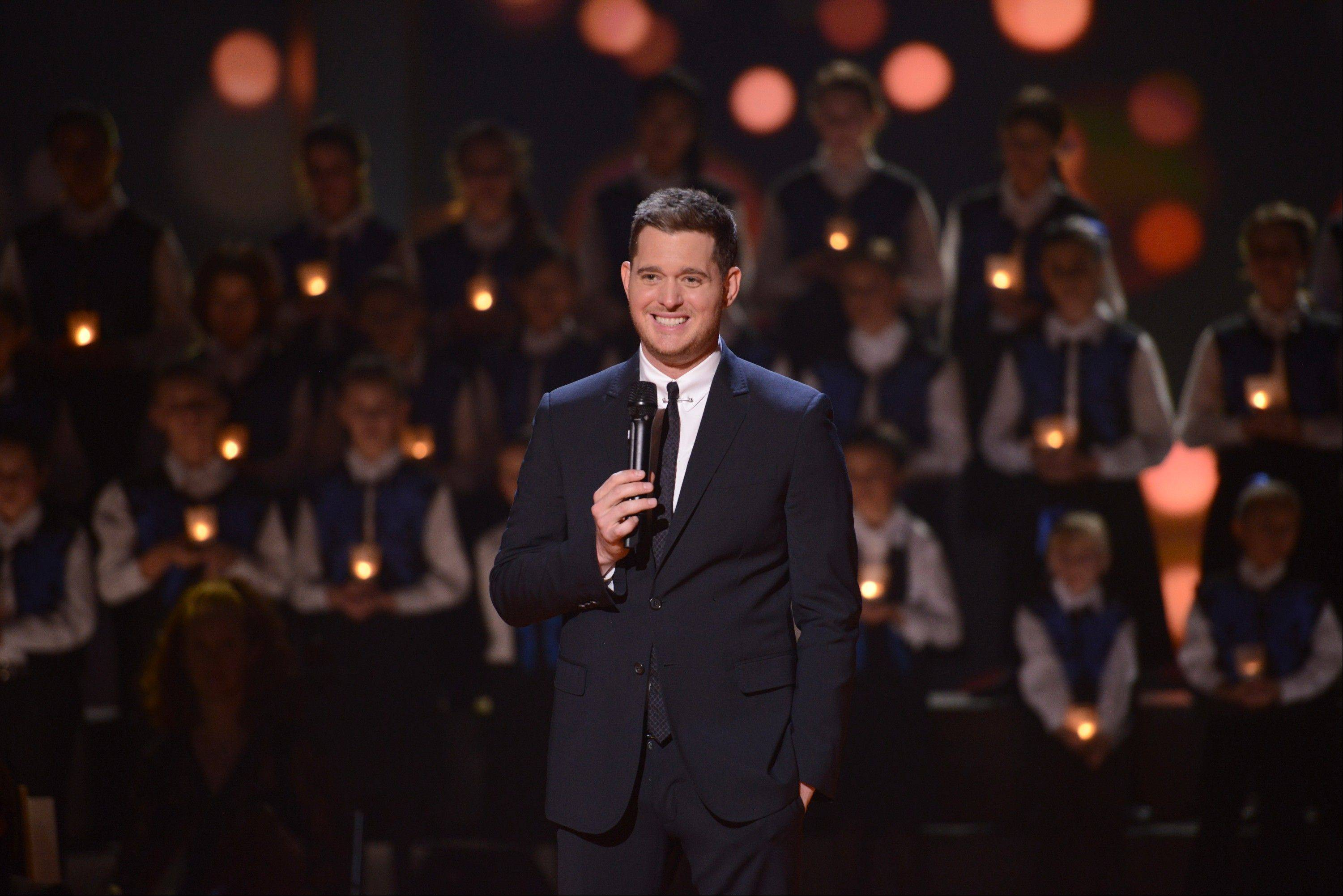 Singer Michael Buble returns to NBC Wednesday, Dec. 18, for his third Christmas special.