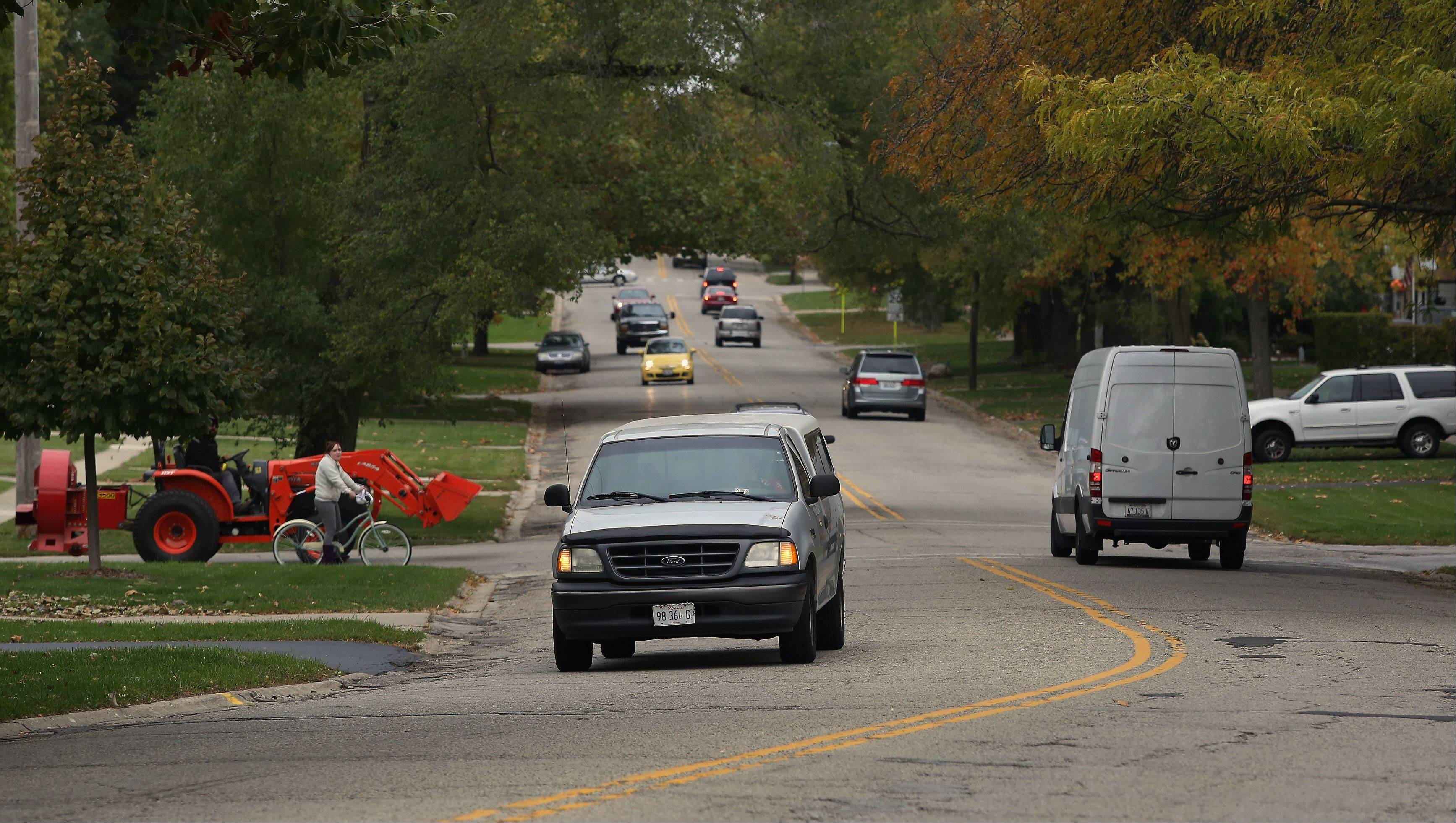 Mundelein officials may forcibly purchase land along Hawley Street for a road-widening project.