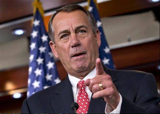 House Speaker John Boehner of Ohio rebukes conservative groups who oppose the pending bipartisan budget compromise struck by House Budget Committee Chairman Rep. Paul Ryan, R-Wis., and Senate Budget Committee Chairwoman Sen. Patty Murray, D-Wash.