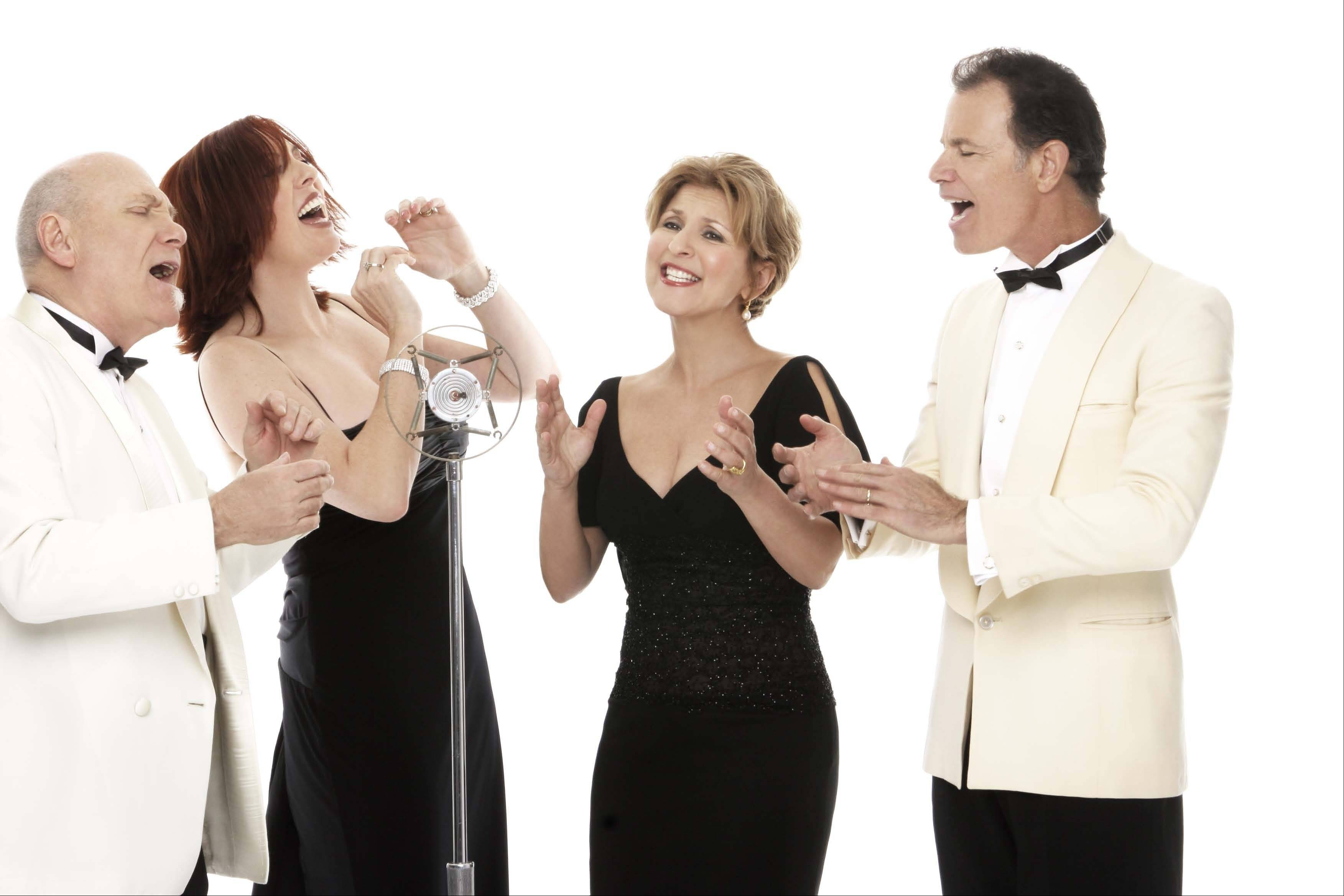 The Manhattan Transfer Swings Christmas performs at 8 p.m. Saturday, Dec. 21, at the Genesee Theatre in Waukegan.