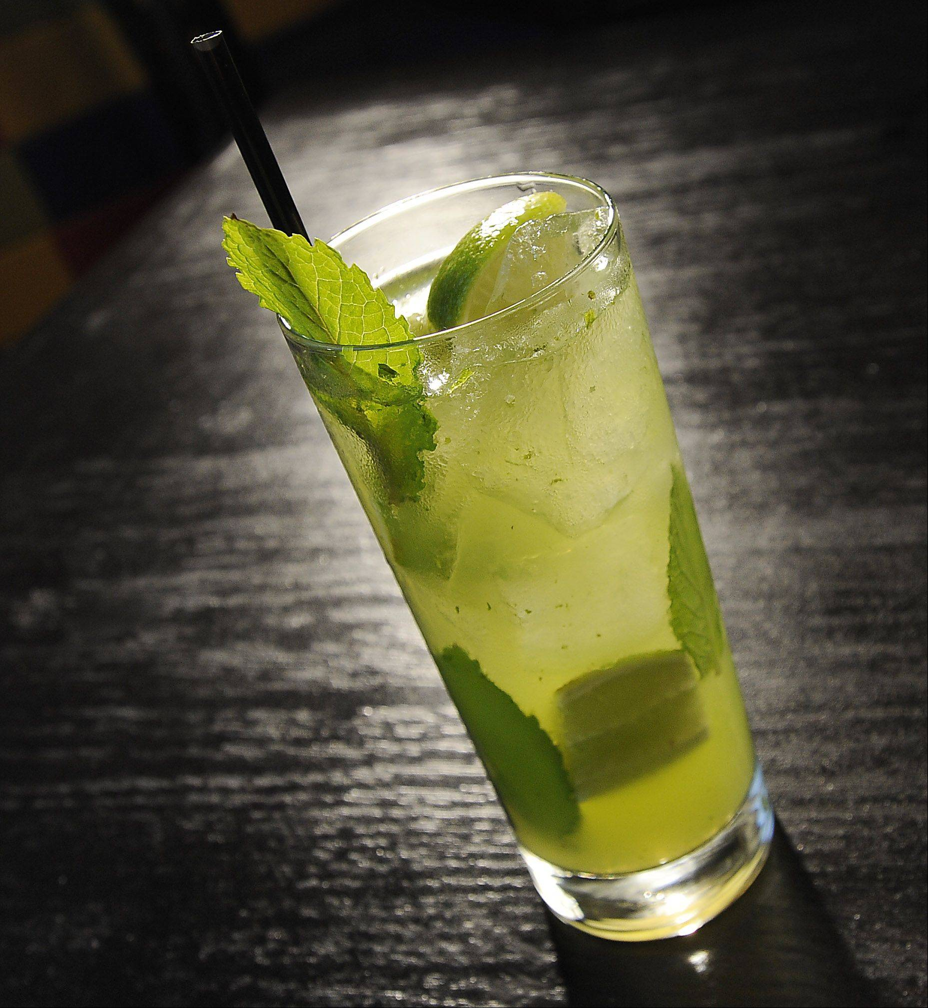 Besides margaritas, mojitos are on the menu at Mia's Cantina.