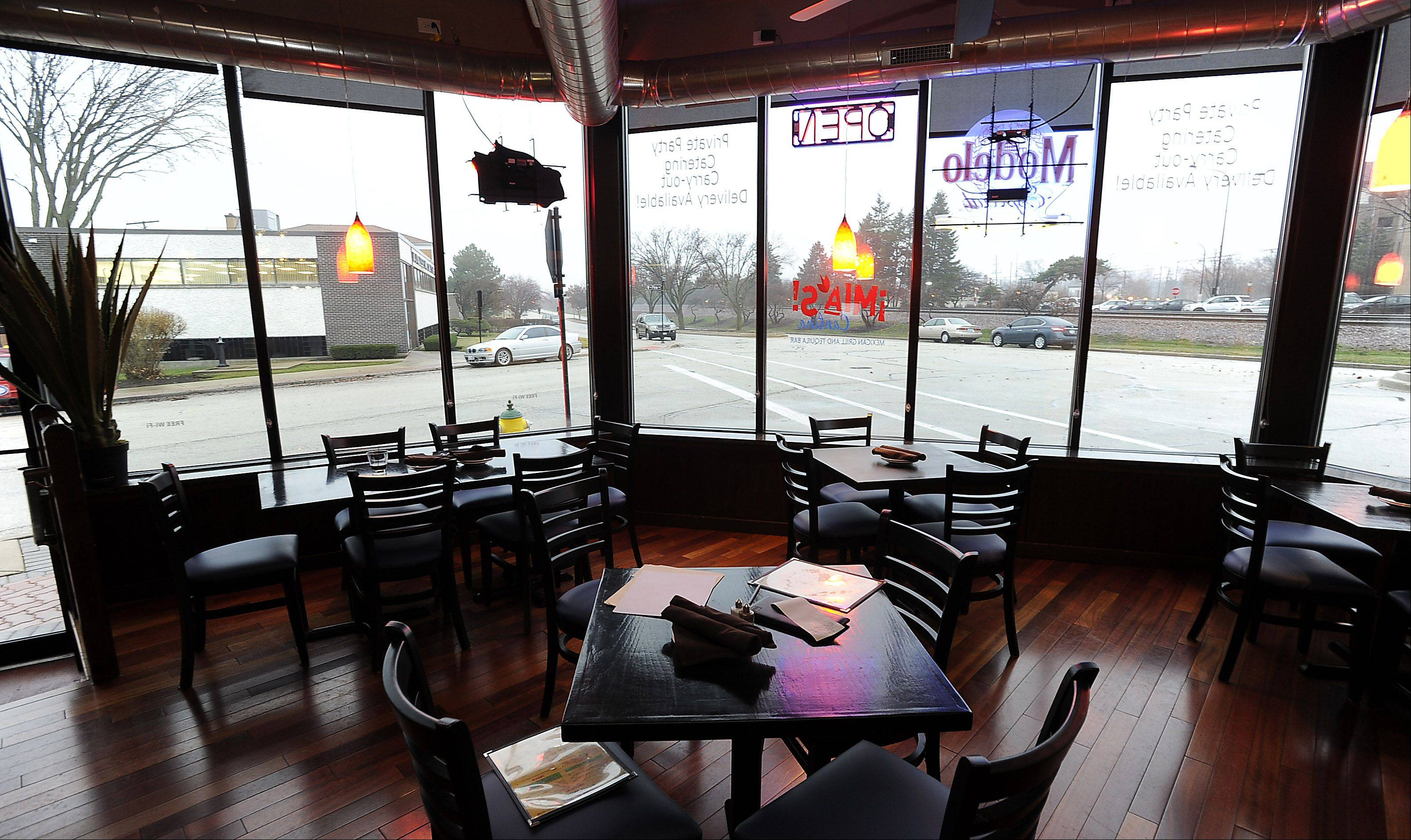 Mia's Cantina opened in downtown Mount Prospect in July 2012.
