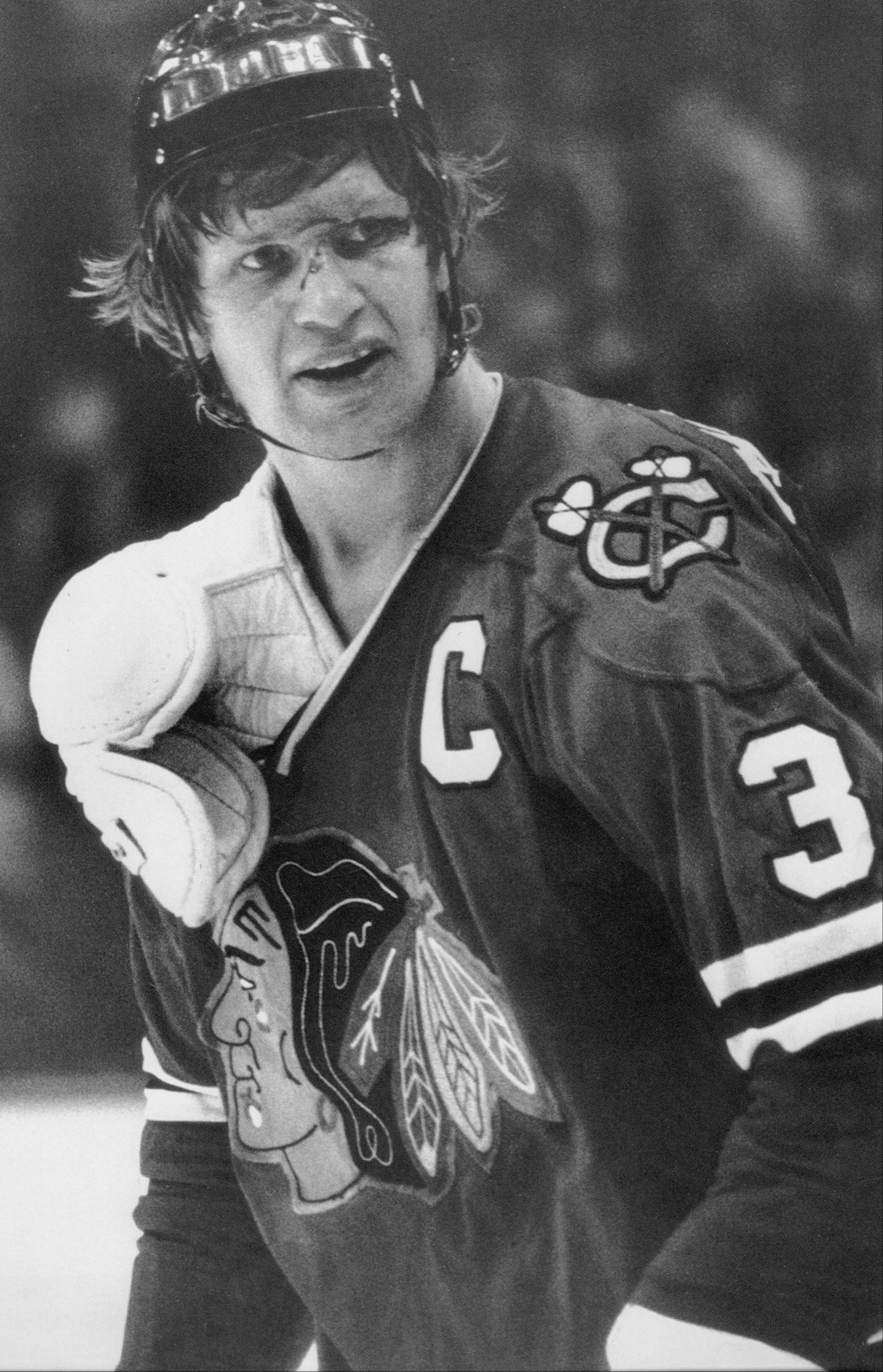 Keith Magnuson did his best to protect other Blackhawks players.