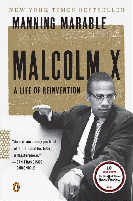 """Malcolm X: A Life of Reinvention"" by Manning Marable is just one of many suggested books to buy for yourself or others for the holiday."