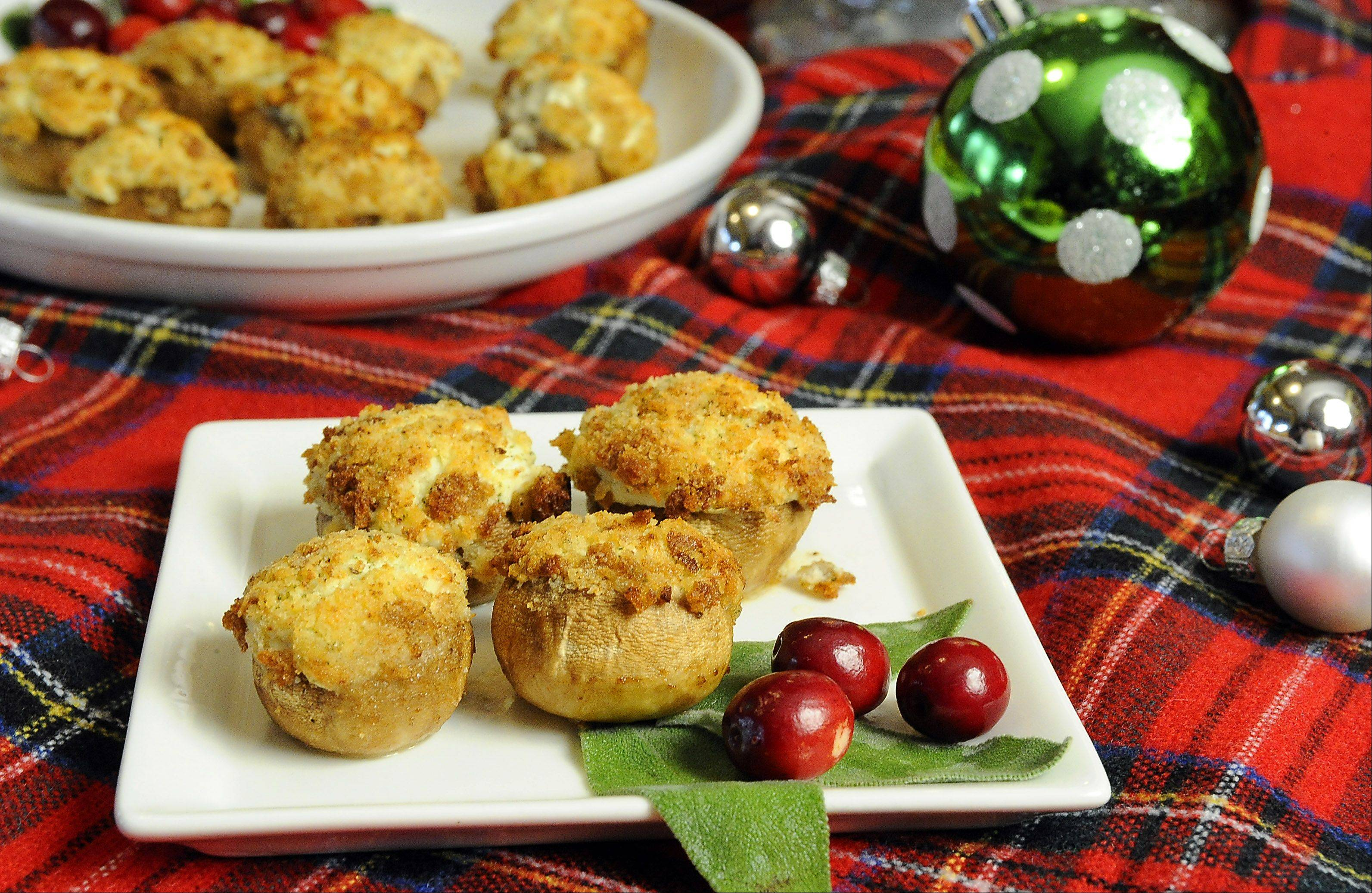 Don't knock 'em till you've tried 'em, says Penny Kazmier of these cheesy stuffed mushrooms. The treasured recipe is a must-have on her holiday appetizer buffet.