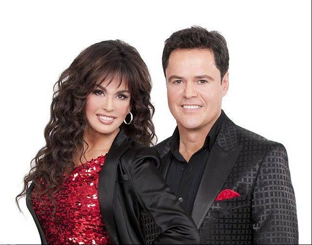 Donny and Marie Osmond return with their Donnie & Marie Christmas Tour at the Allstate Arena in Rosemont.