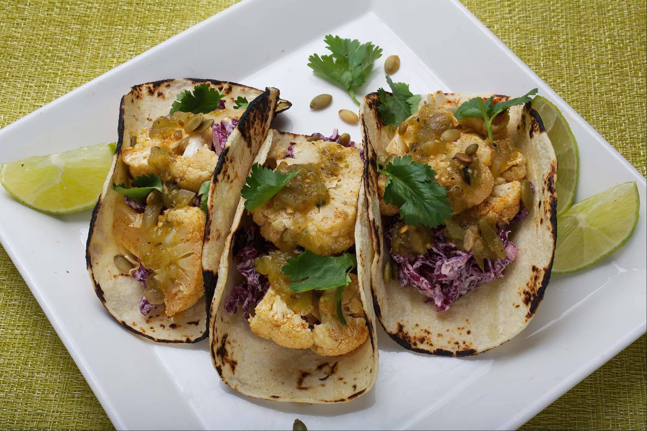 For a twist on traditional tacos, try Cauliflower Tacos With Chipotle Slaw.