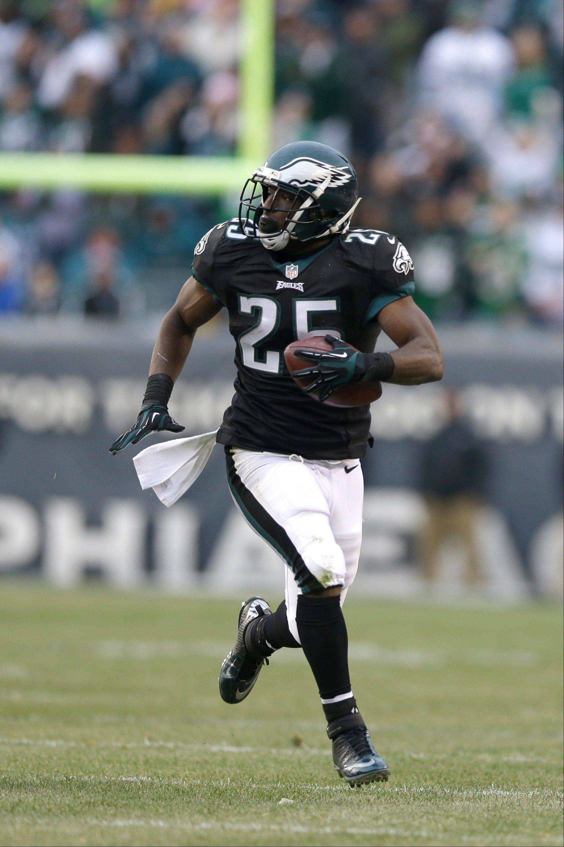 Behind workhorse LeSean McCoy, the Eagles' ground game leads the NFL with an average 152.9 yards per game.