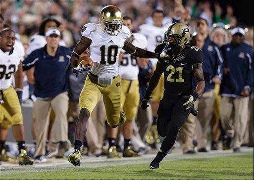 Purdue-Notre Dame rivalry to end after 2014