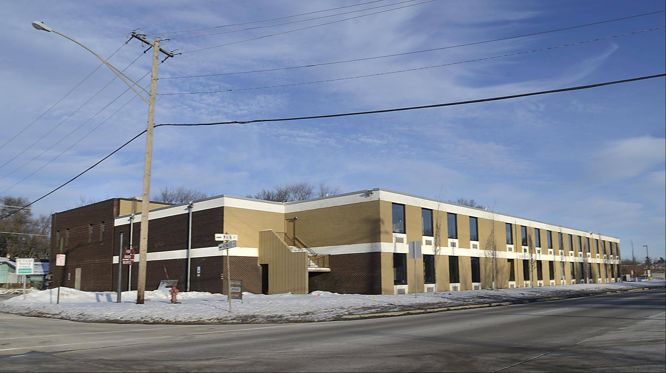 East Dundee approved a redevelopment agreement for the old Summit School on Main Street, which is now owned by Tom Roeser, who has converted the insides into office spaces.