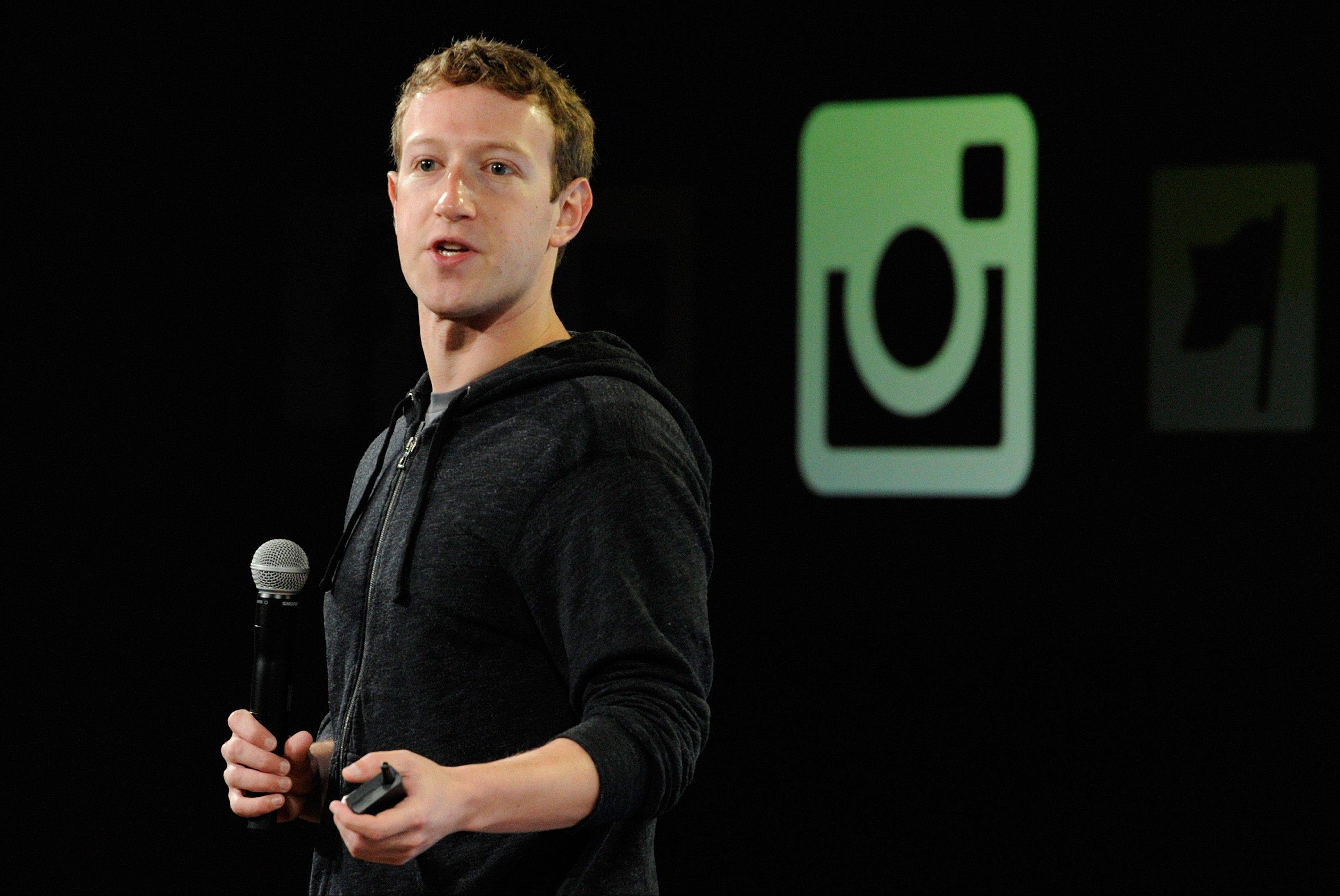Facebook plans to offer 70 million shares of its Class A stock in a sale that includes more than 41 million shares from chairman and CEO Mark Zuckerberg, seen here.