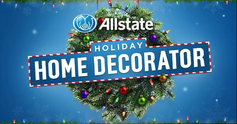 See if you're avoiding Mayhem this season with the online game Allstate Holiday Home Decorator.