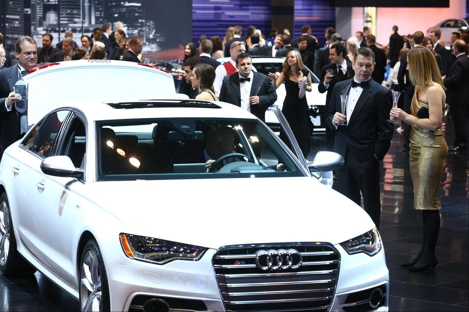 First Look for Charity gives guests access to vehicles on the show floor that is not always possible during the Chicago Auto Show's 10 public days.