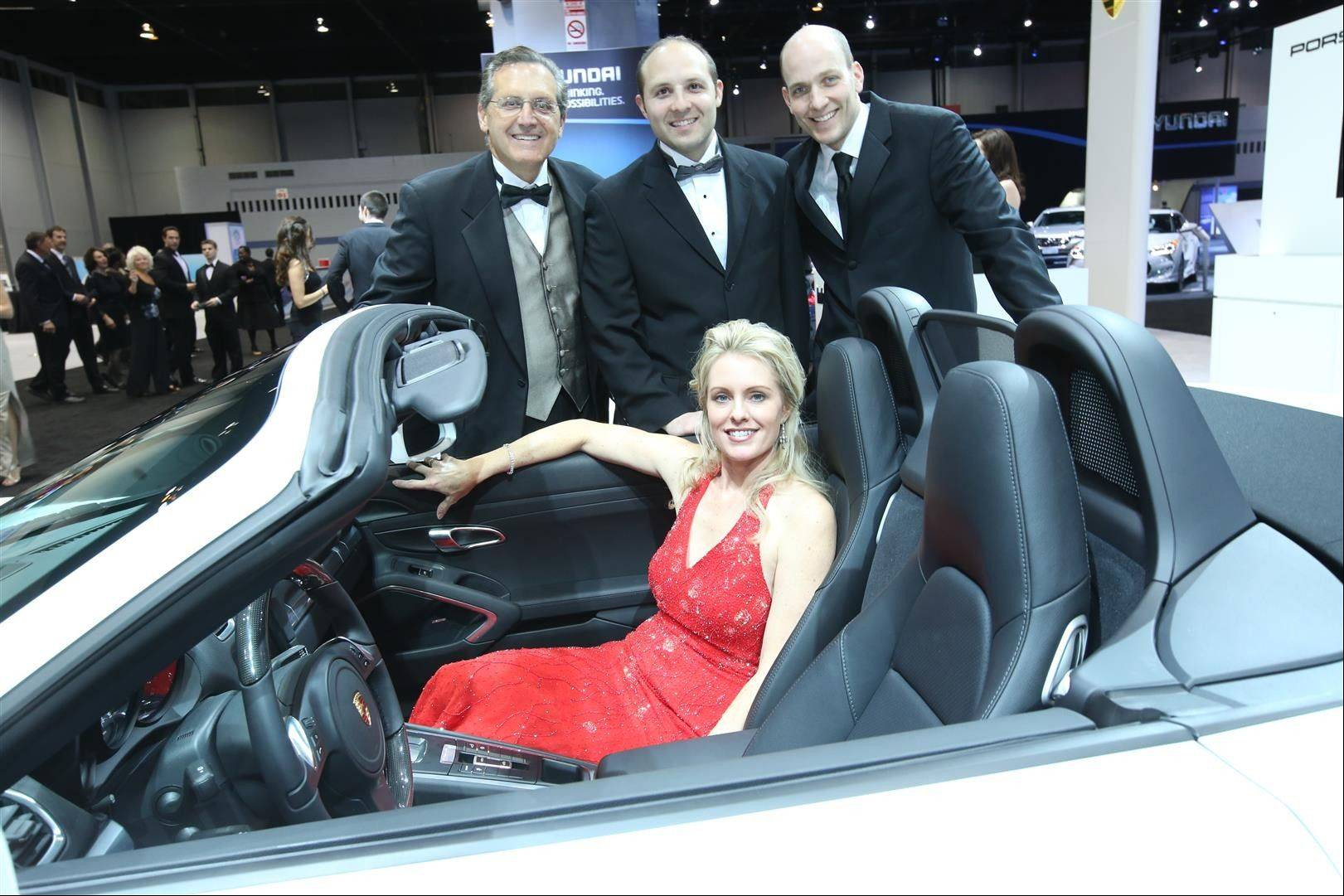 The tuxedo-mandatory affair enables participants to behold the nation's largest auto show in grandeur the evening before it opens to the public.
