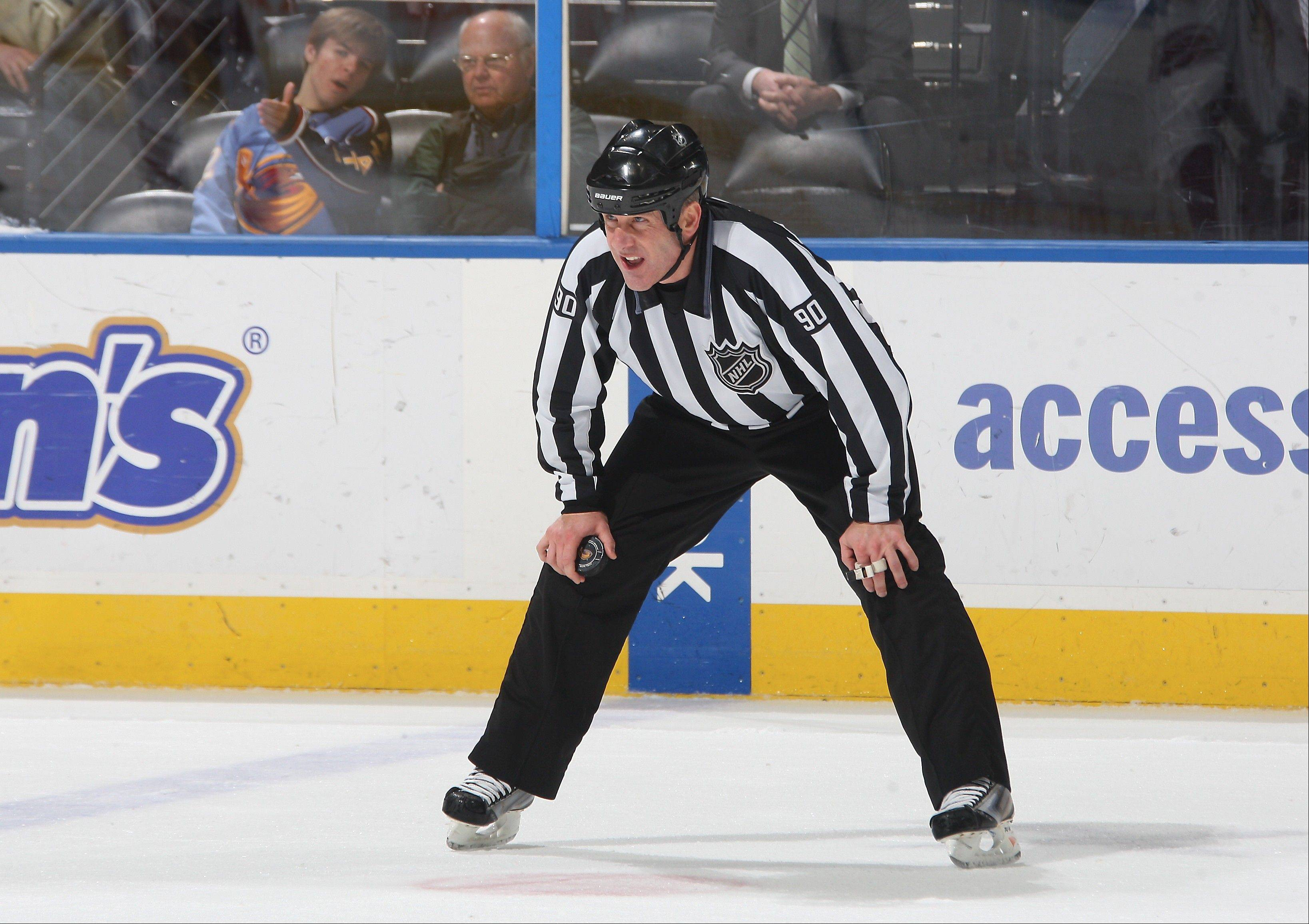 Algonquin resident and Palatine native Andy McElman is thrilled about his upcoming participation in Olympic Hockey in the Sochi Games as a linesman.