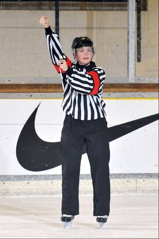 how to become a hockey referee in illinois