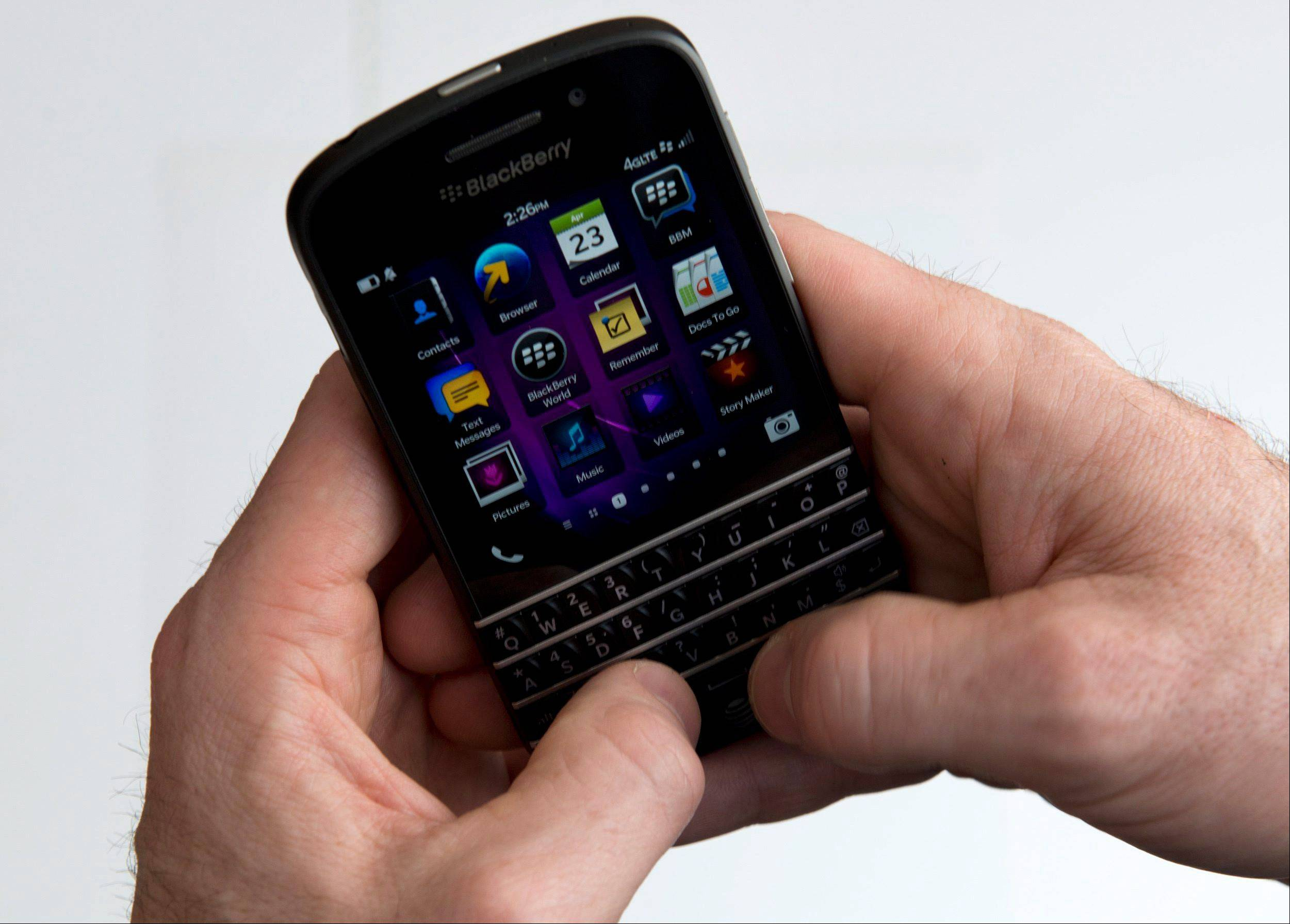 BlackBerry on Friday, Dec. 20, 2013 reported a massive $4.4 billion loss in the third quarter and 56 percent drop in revenue. The results are the BlackBerry's first under new chairman and interim chief executive John Chen.