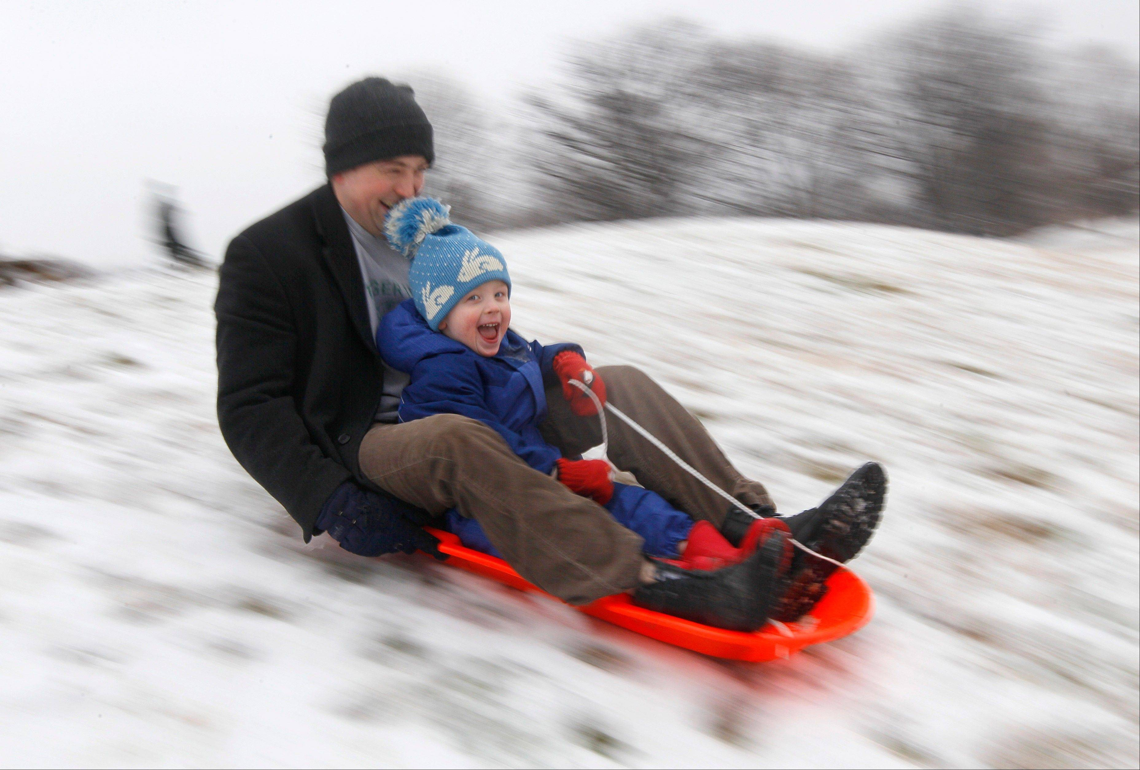 According to a government survey released on Friday, Dec. 20, 2013, the detached dad is mostly a myth. Most American fathers say they are heavily involved in hands-on parenting, the researchers found.