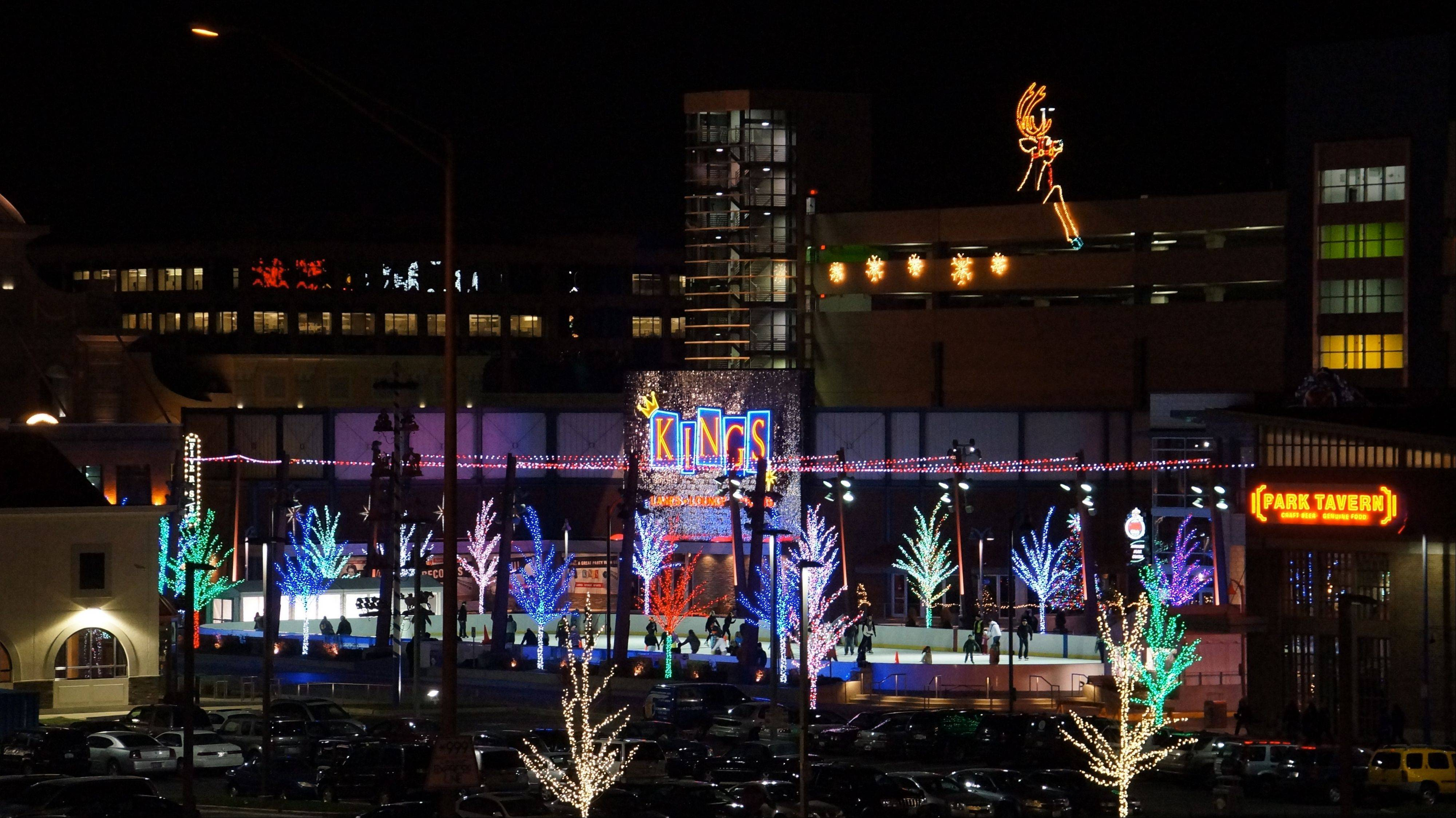 "Rosemont's MB Financial Park entertainment district will be featured during ABC 7's live broadcast of ""Countdown Chicago 2014"" on New Year's Eve."