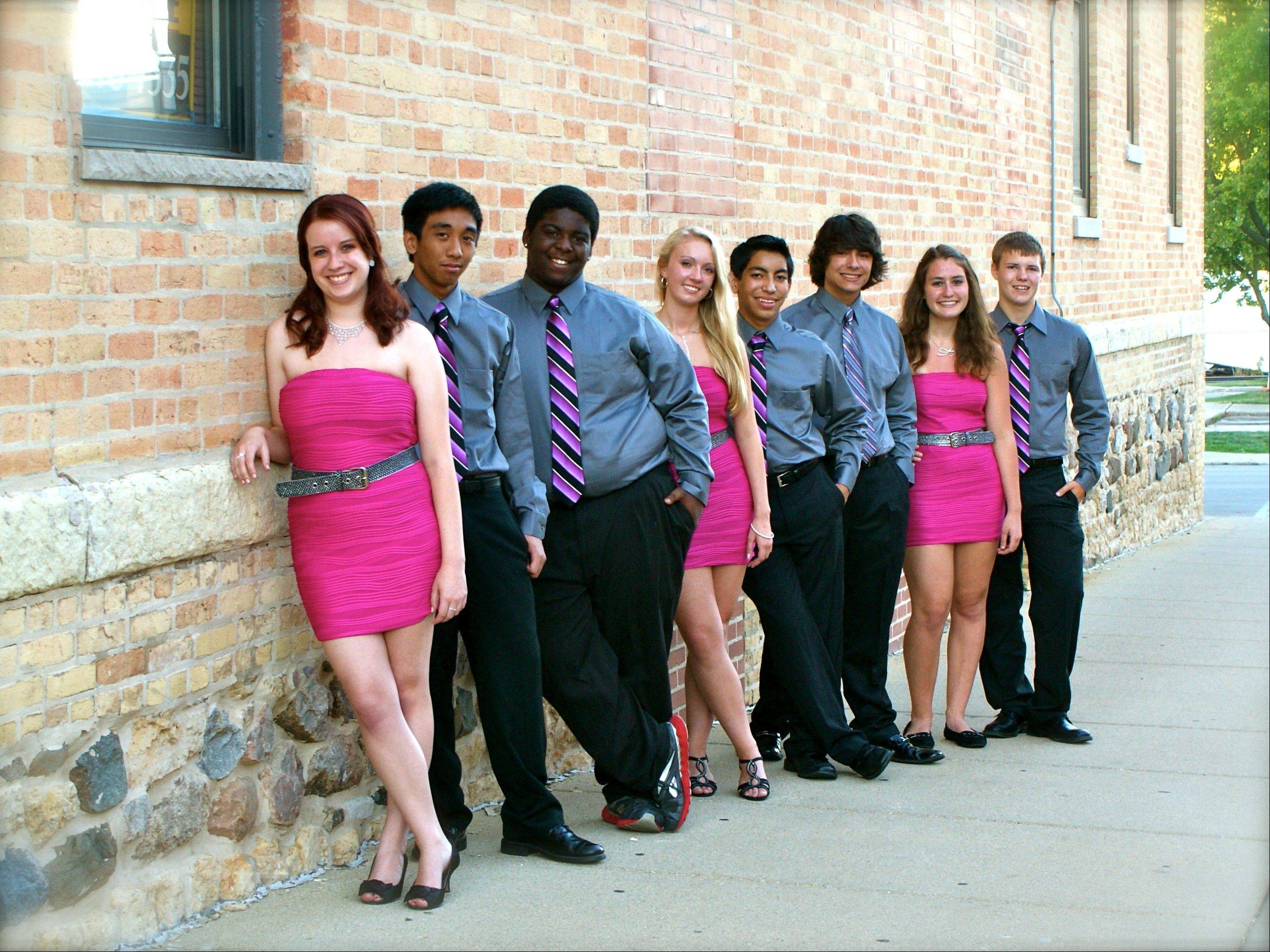 Project Two, a group specializing in the music of Broadway, will perform a fundraiser concert at Huntley High School Saturday, Dec. 28. Members of the group are all from McHenry County.
