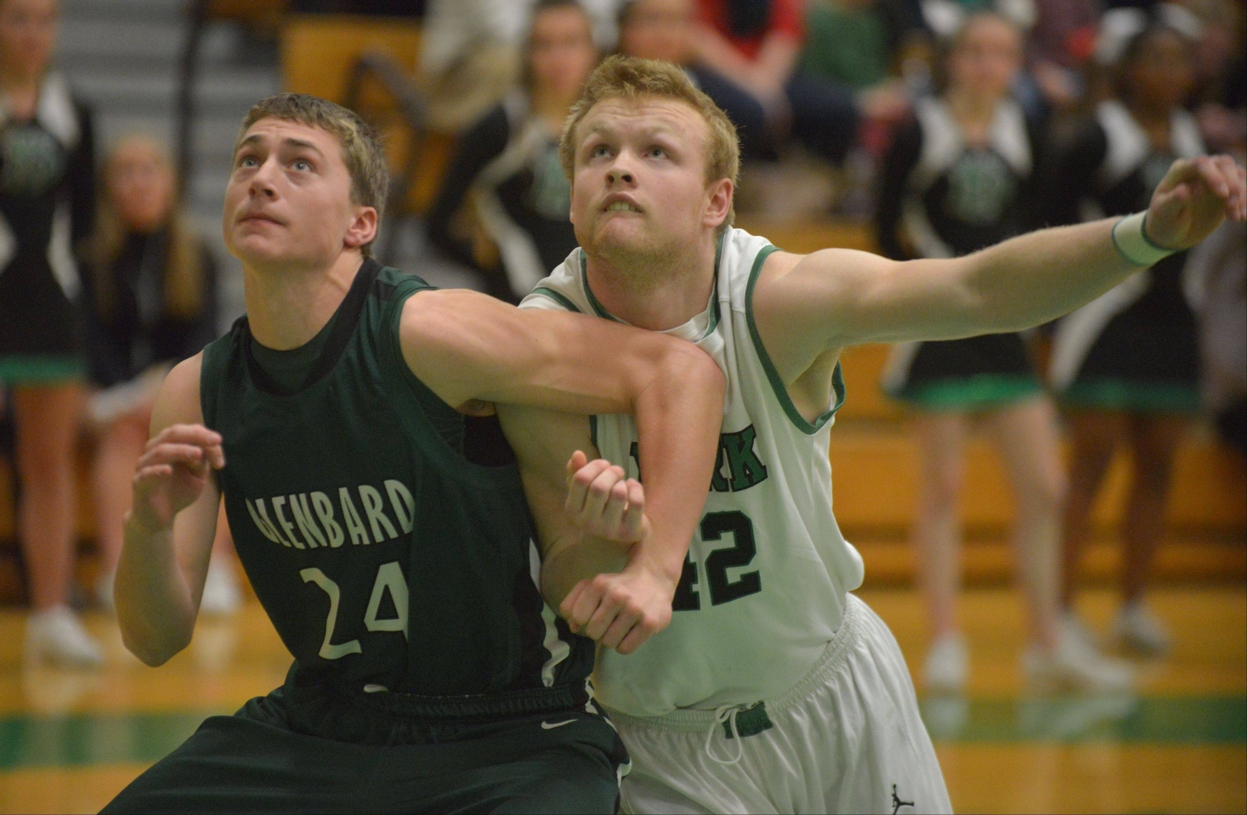 Photos from the Glenbard West at York boys basketball game Friday, Dec. 20.