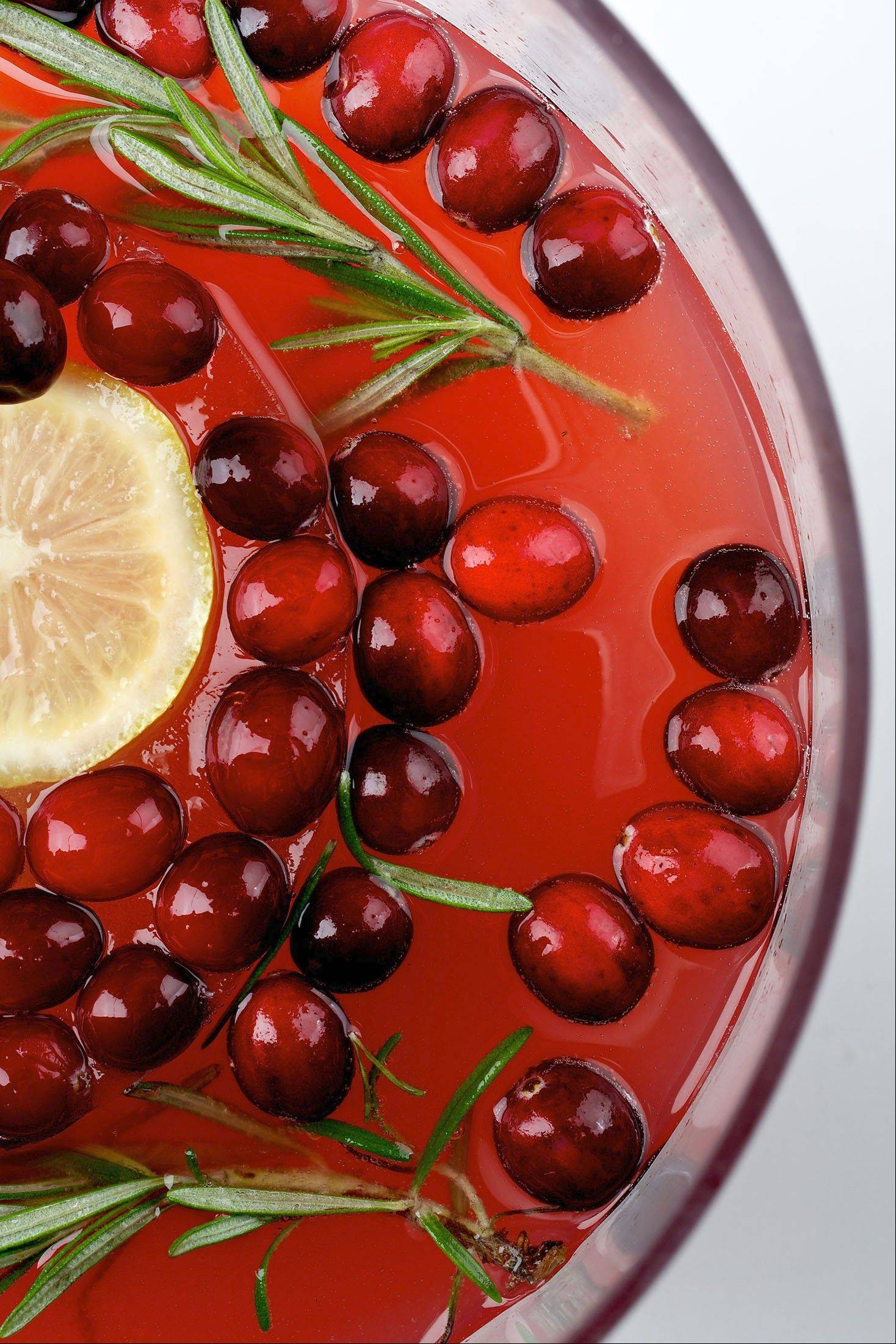 The holidays are the perfect time to gather around a punch bowl.