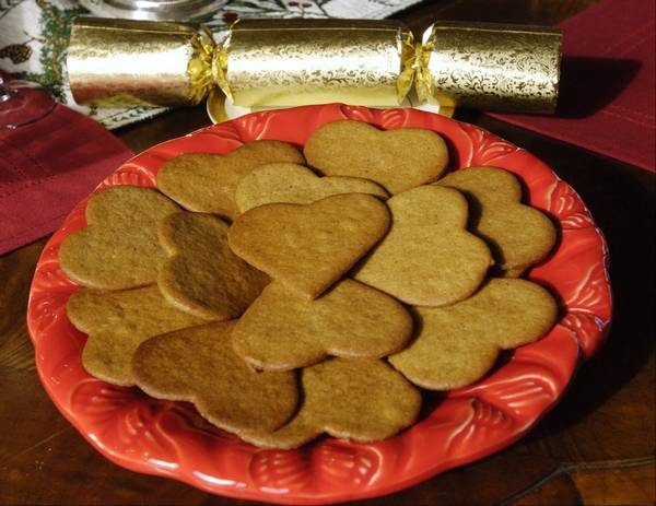 pepparkakor or ginger cookies are among the traditional swedish cookies baked at christmastime